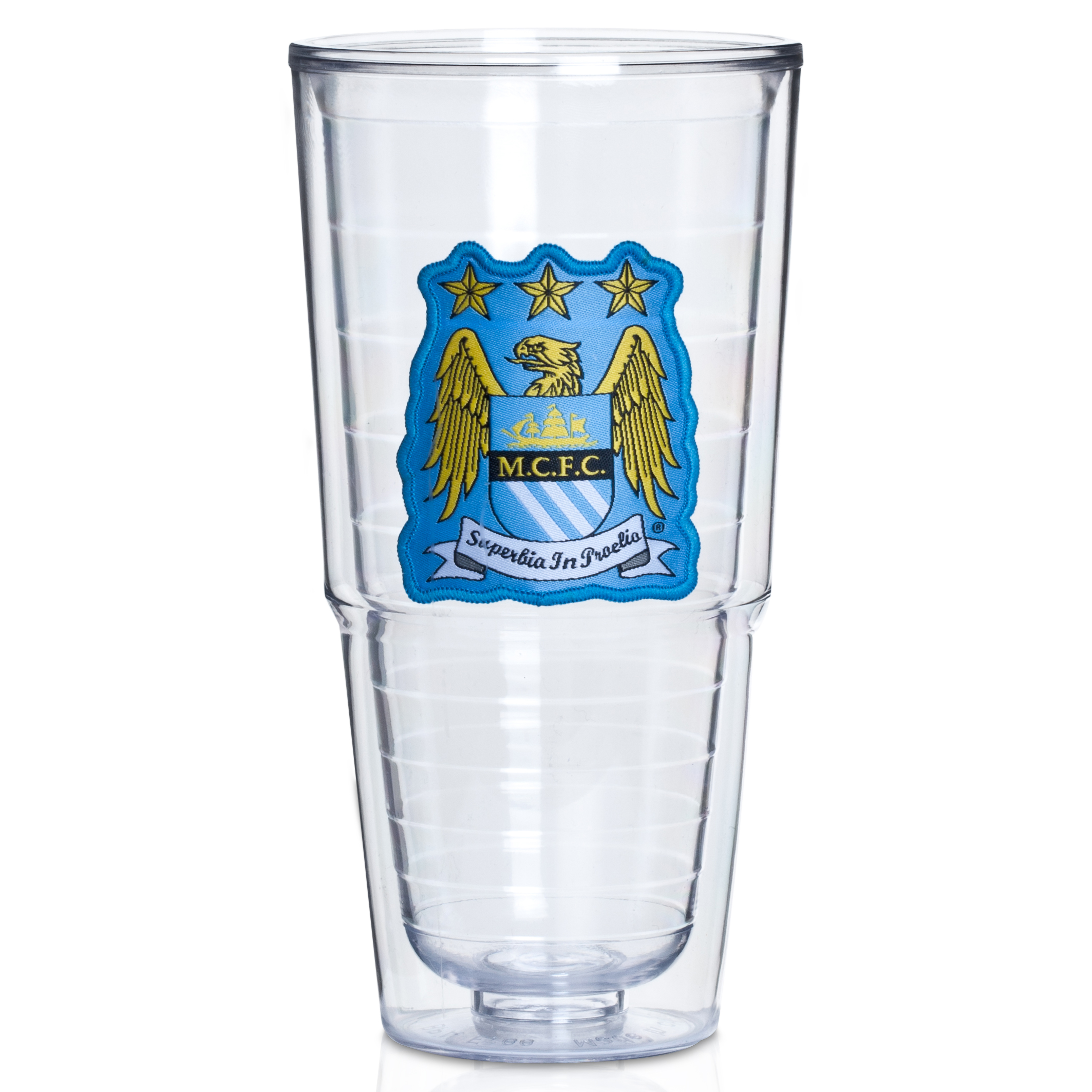 Manchester City Patch Tumbler - Large