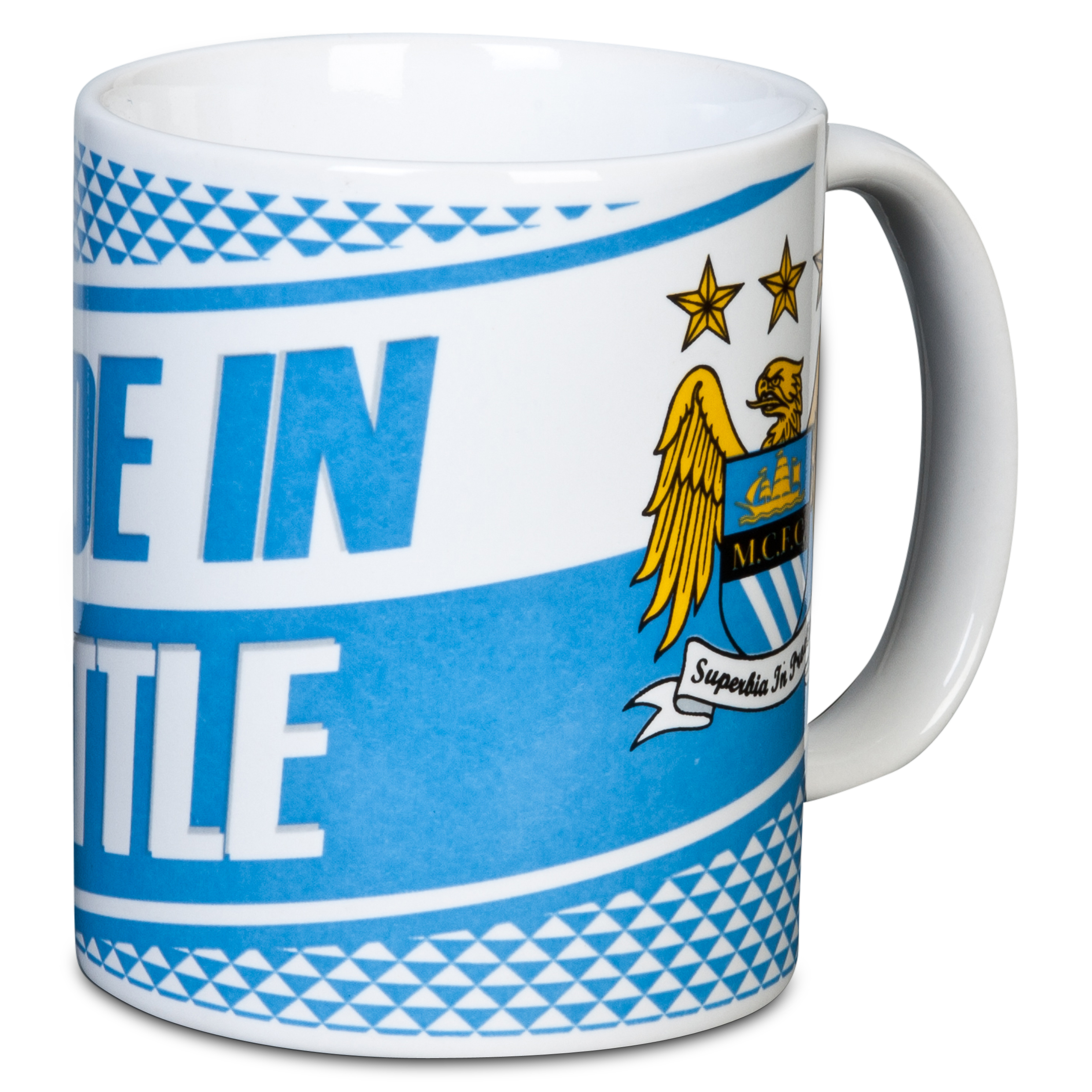 Manchester City AW13 11oz Slogan Mug