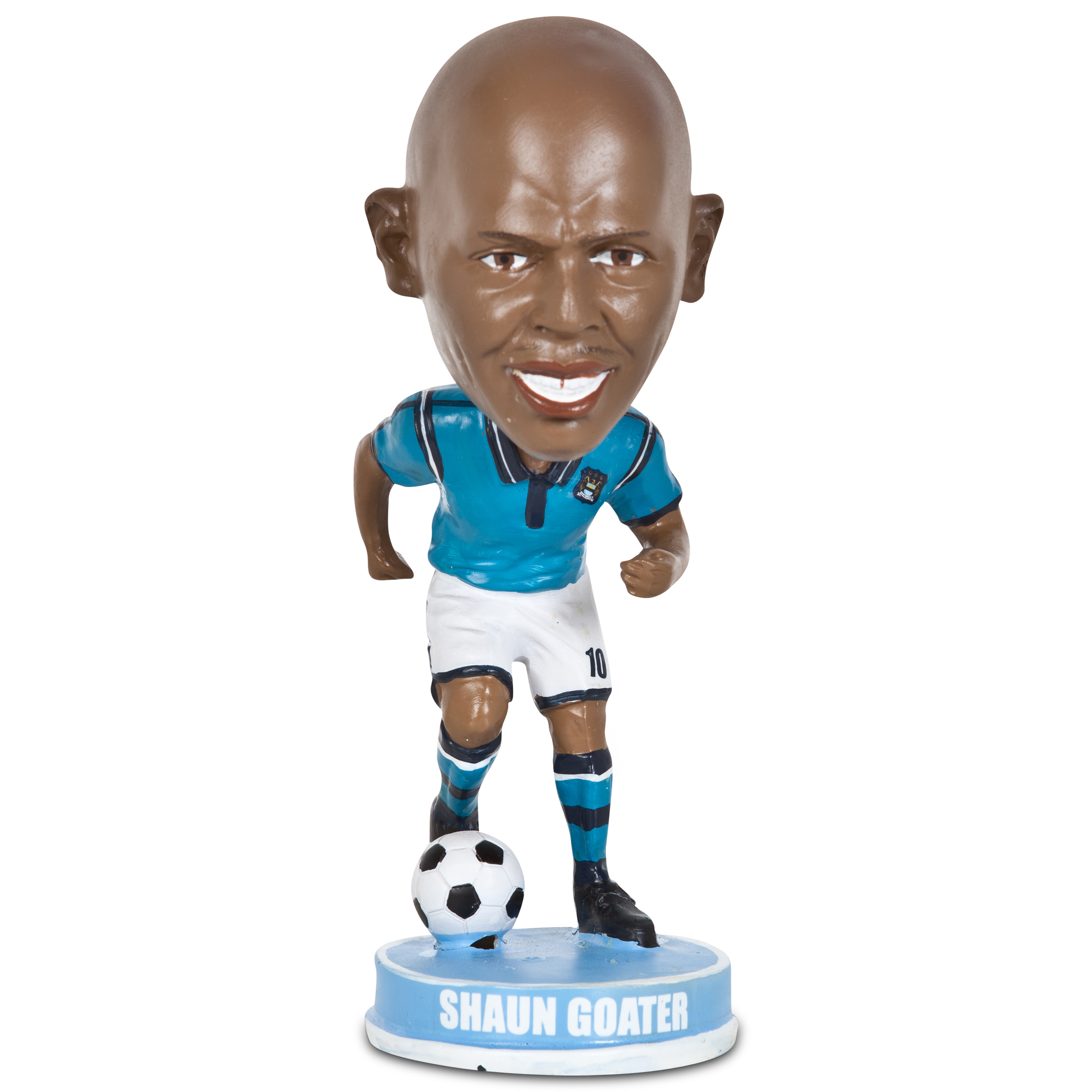 Manchester City Shaun Goater Bobble Head