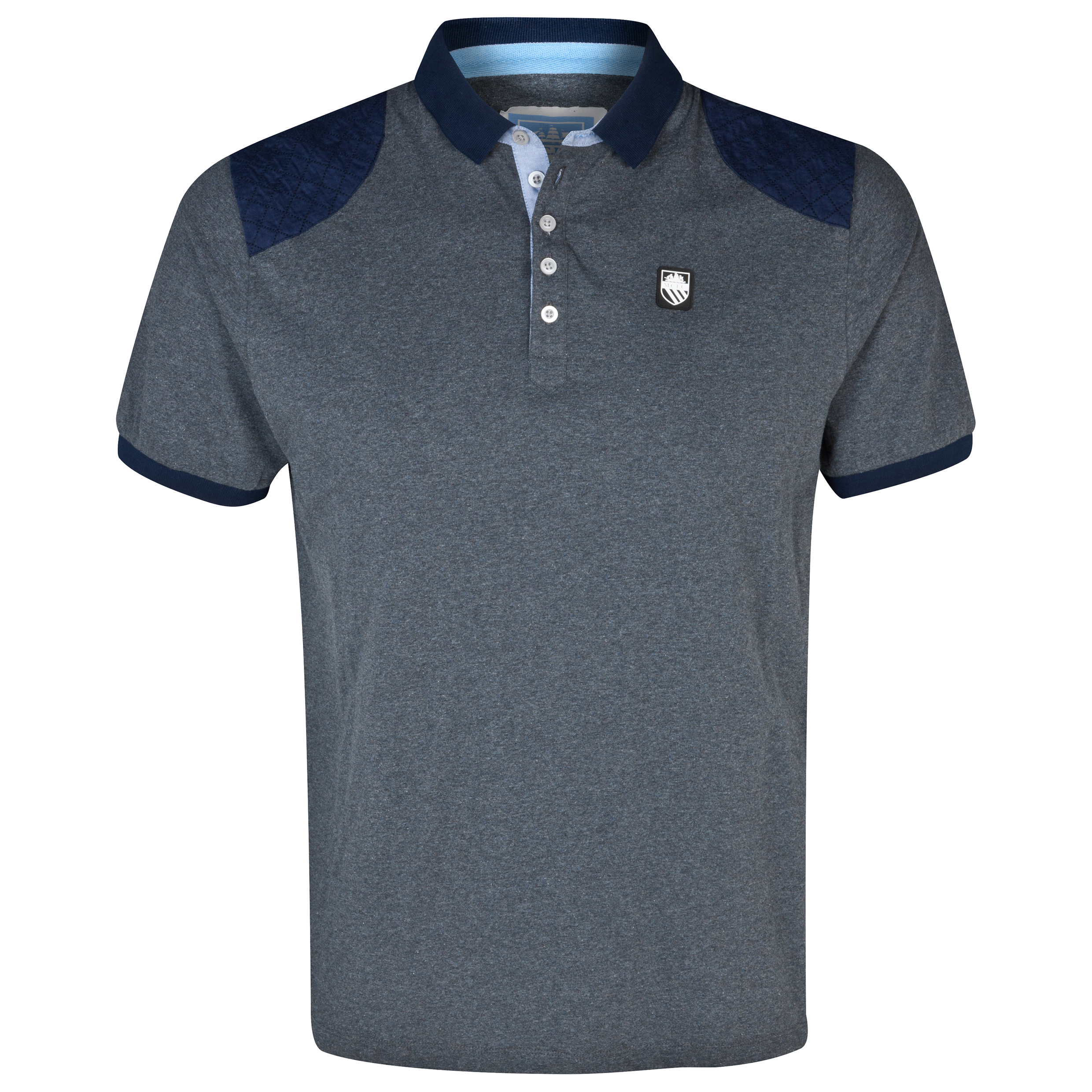 Manchester City Memphis Polo Shirt - Mens Navy
