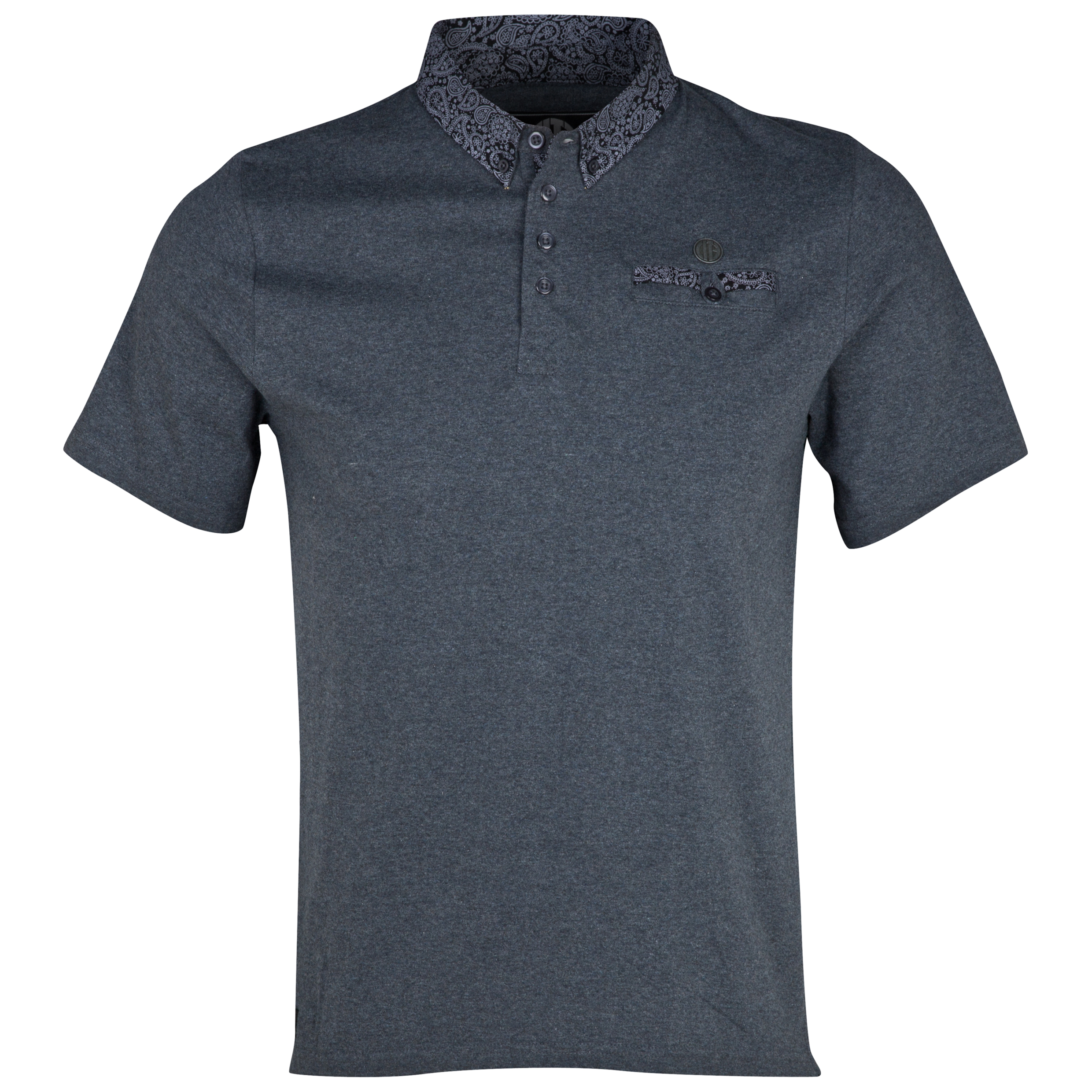 Manchester City Skye Polo Shirt - Mens Charcoal