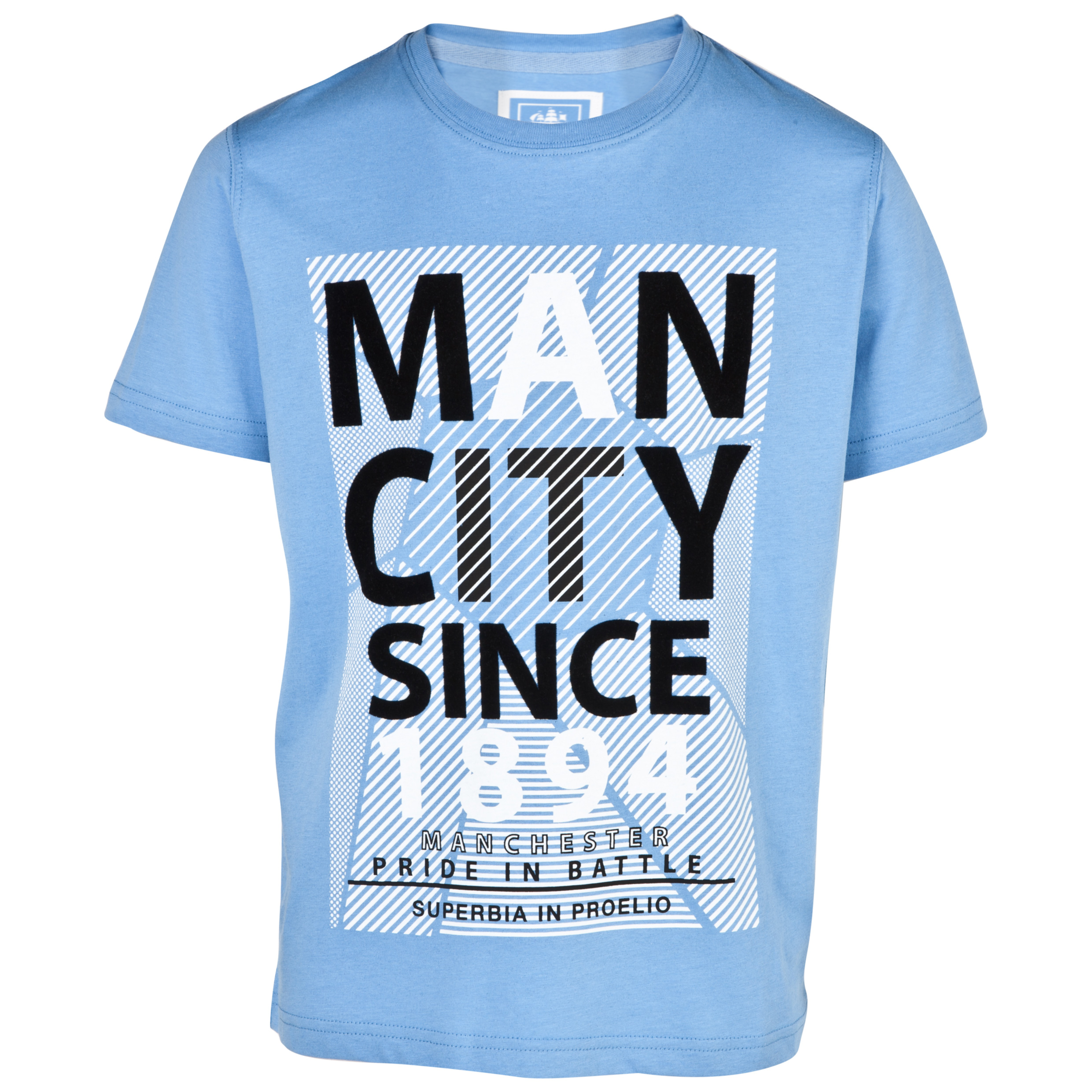 Manchester City Yakima T-Shirt - Boys Lt Blue