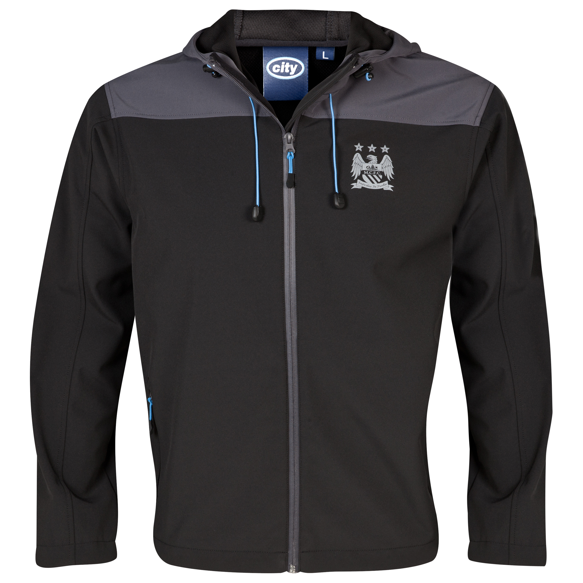 Manchester City Performance Crag Jacket - Mens Black