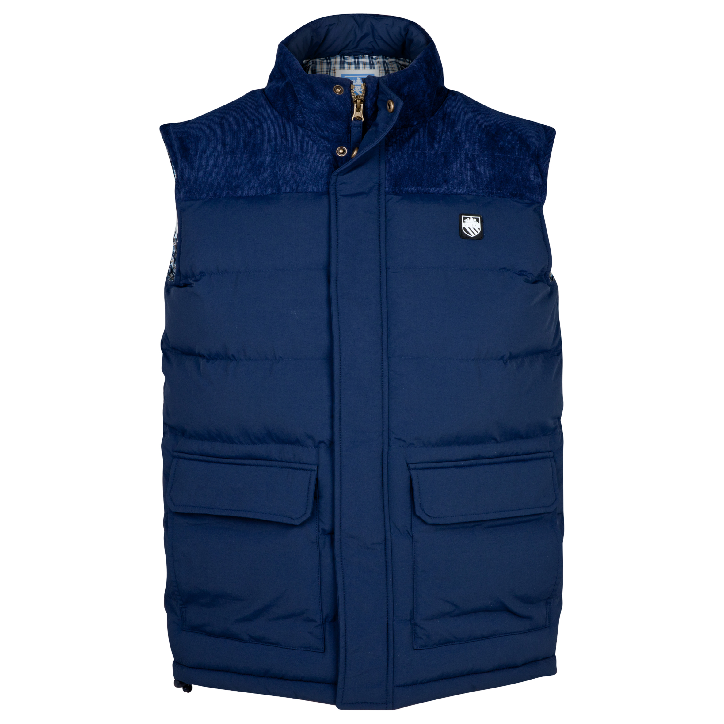 Manchester City Quebec Gilet - Mens Navy