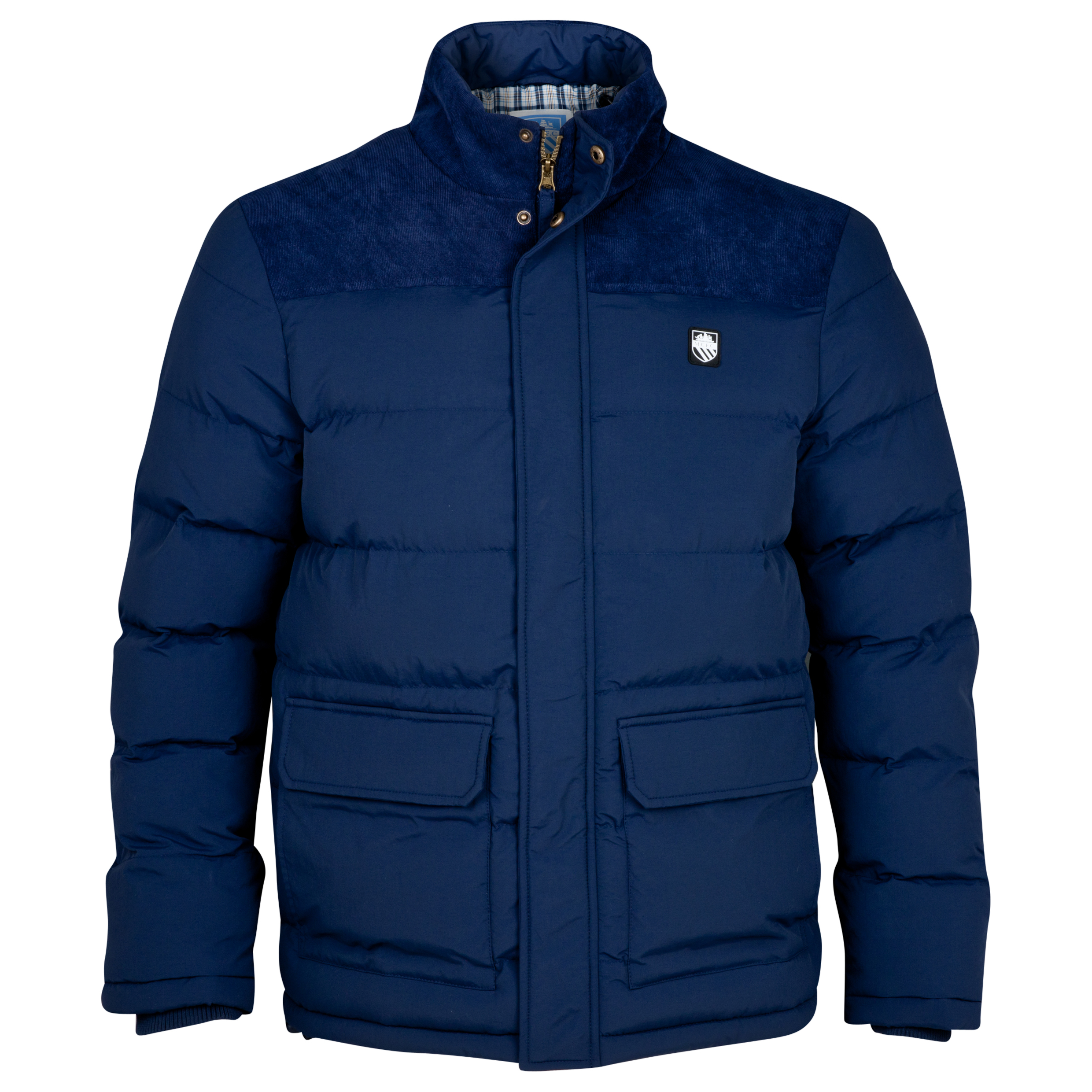 Manchester City Vancover Jacket - Mens Navy