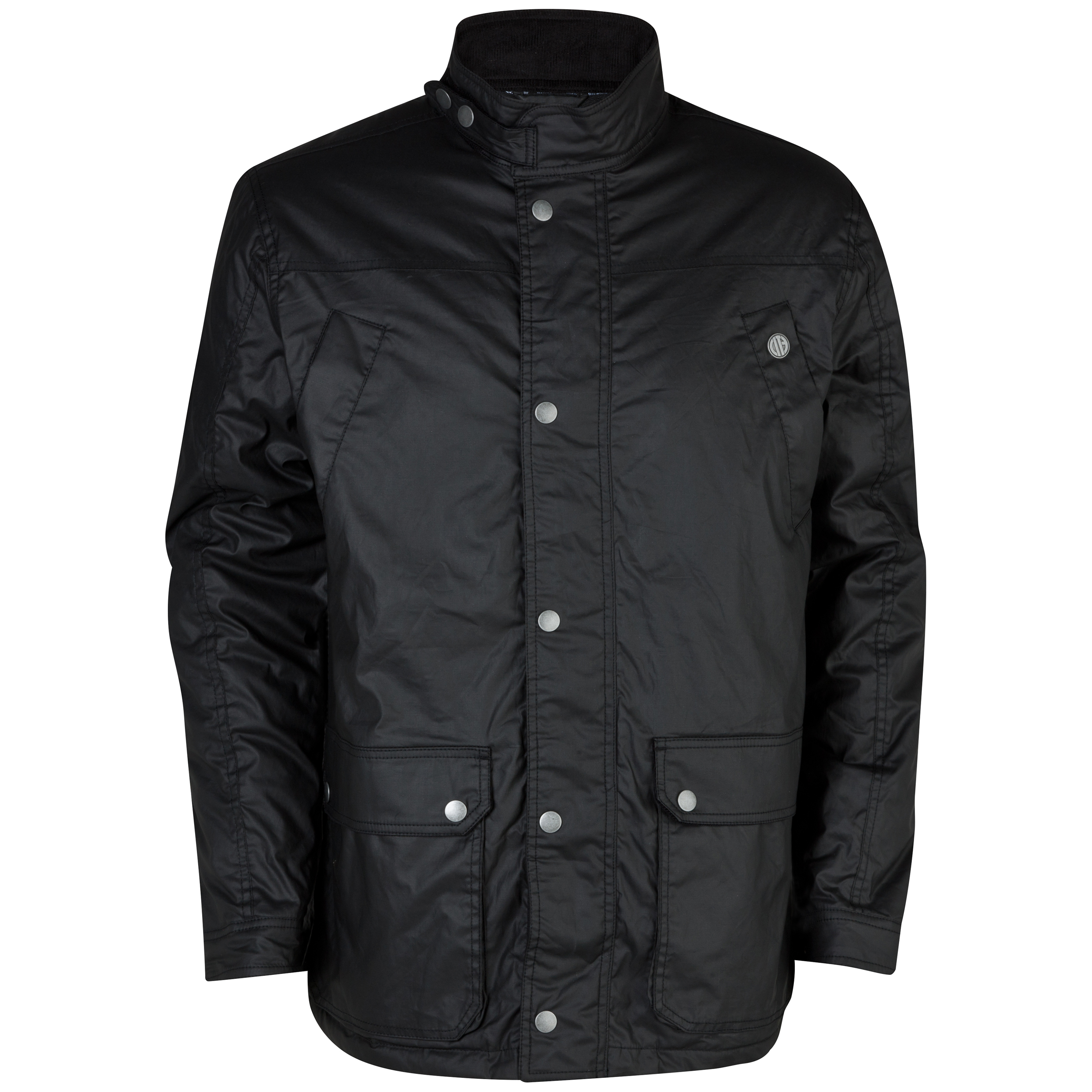 Manchester City Jura Wax jacket - Mens Black