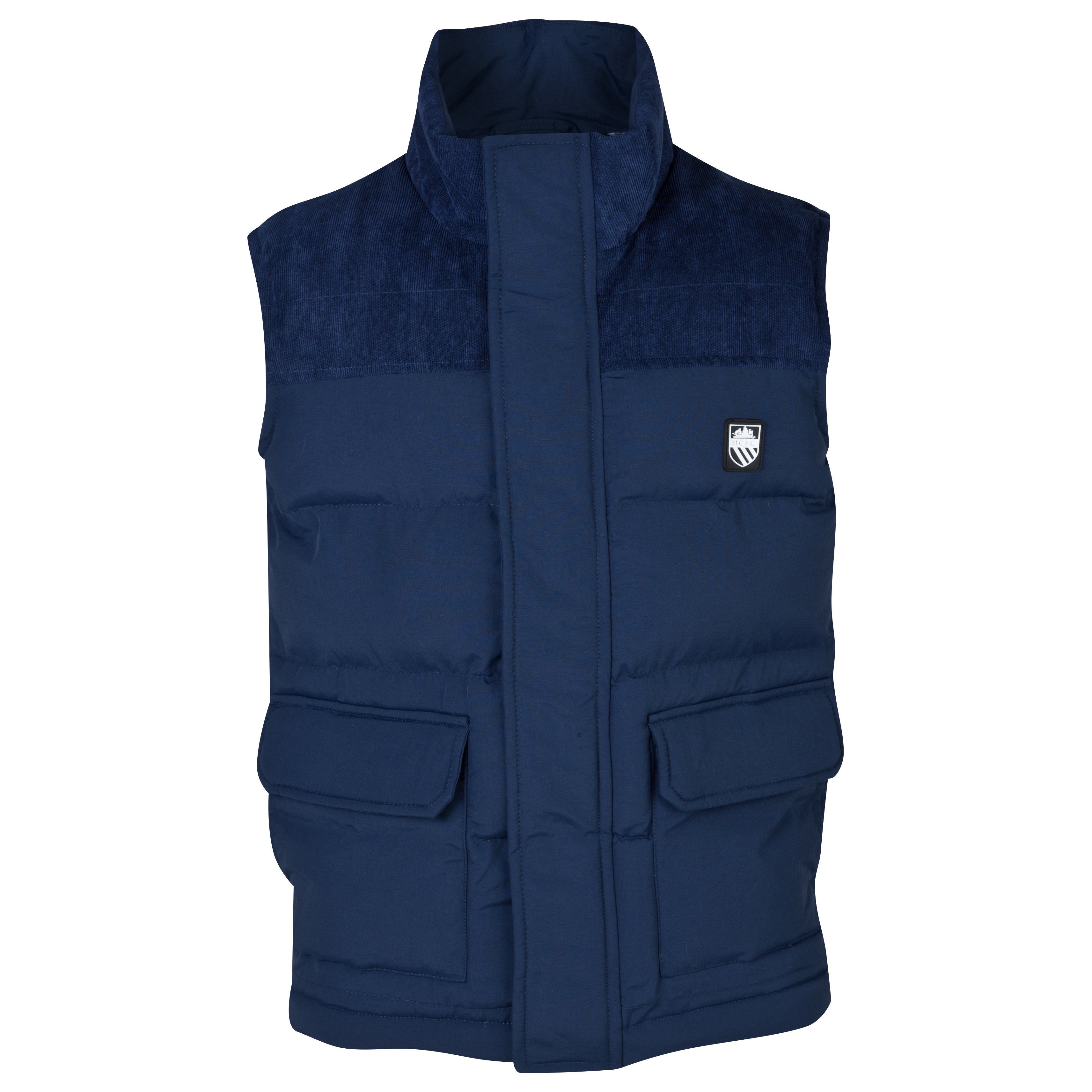 Manchester City Quebec Gilet - Boys Navy