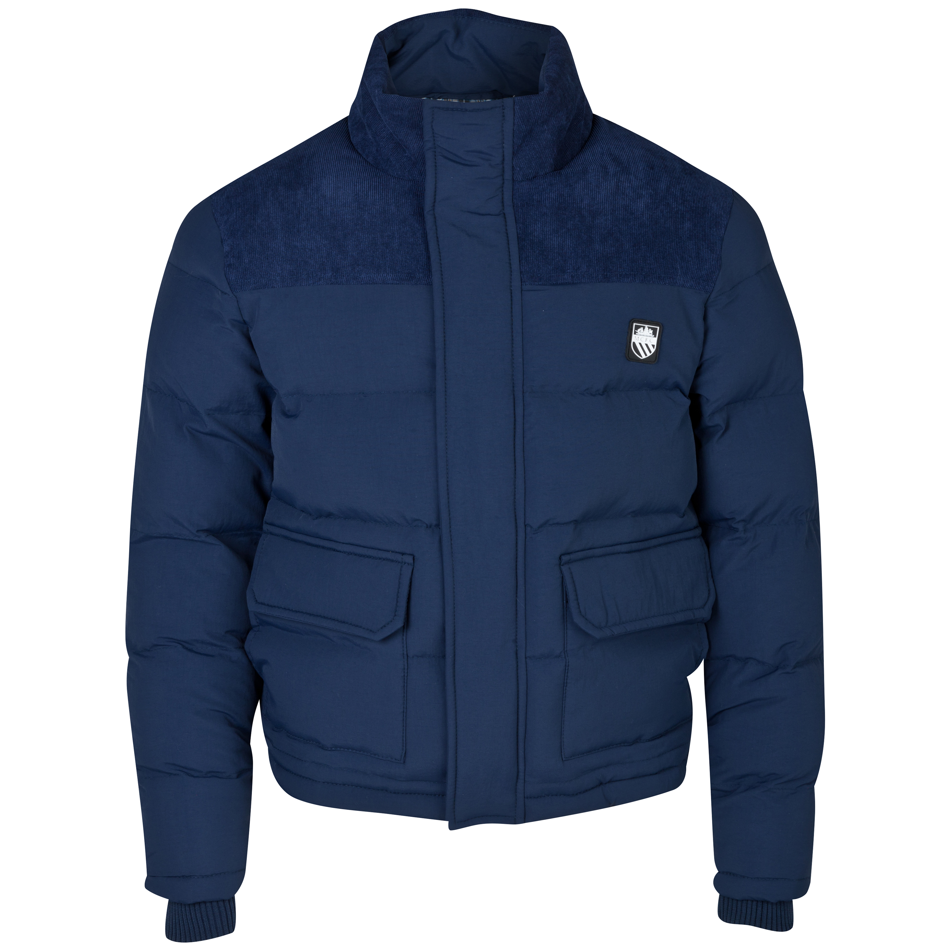 Manchester City Vancover Jacket - Boys Navy