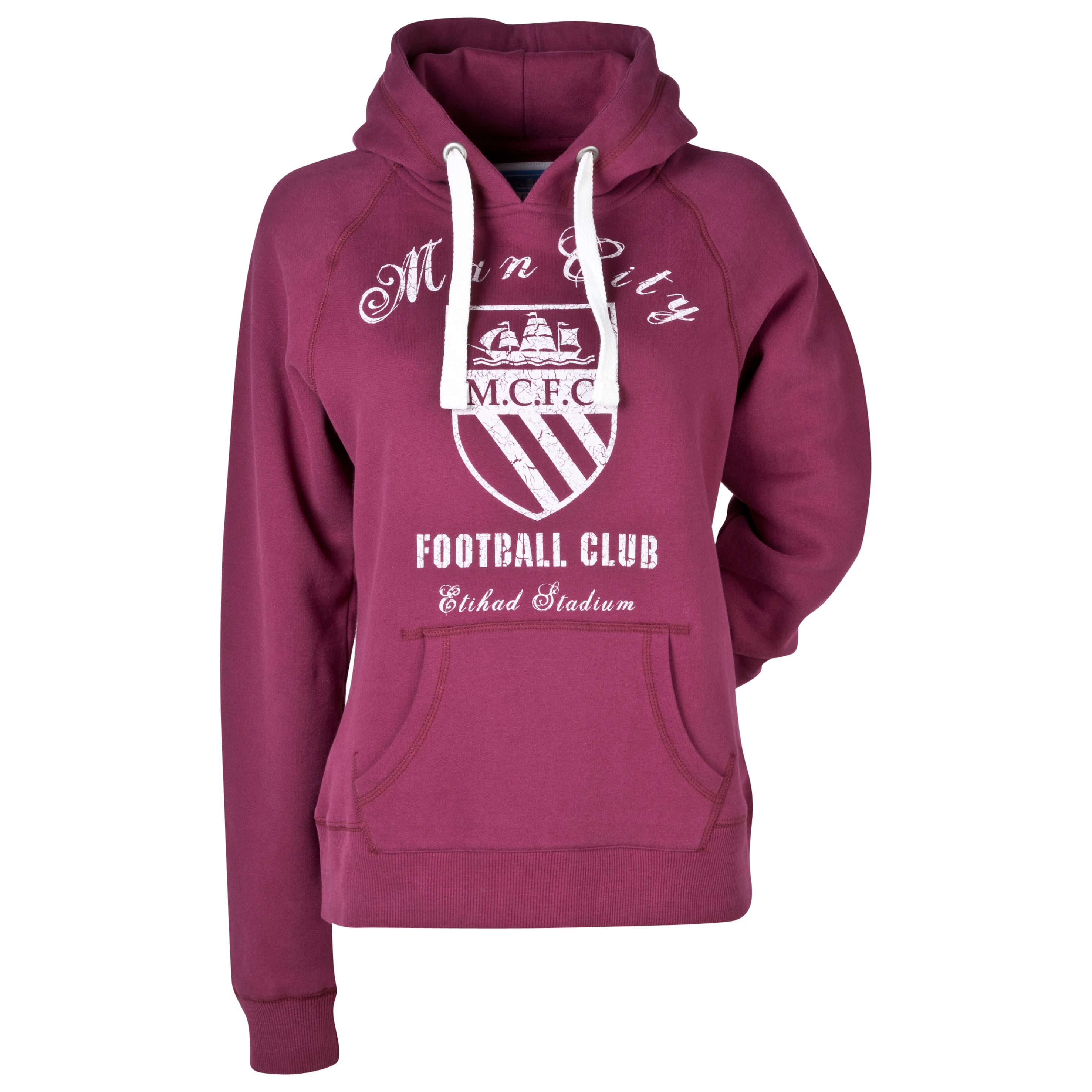 Manchester City Alicia Hoodie - Womens Red