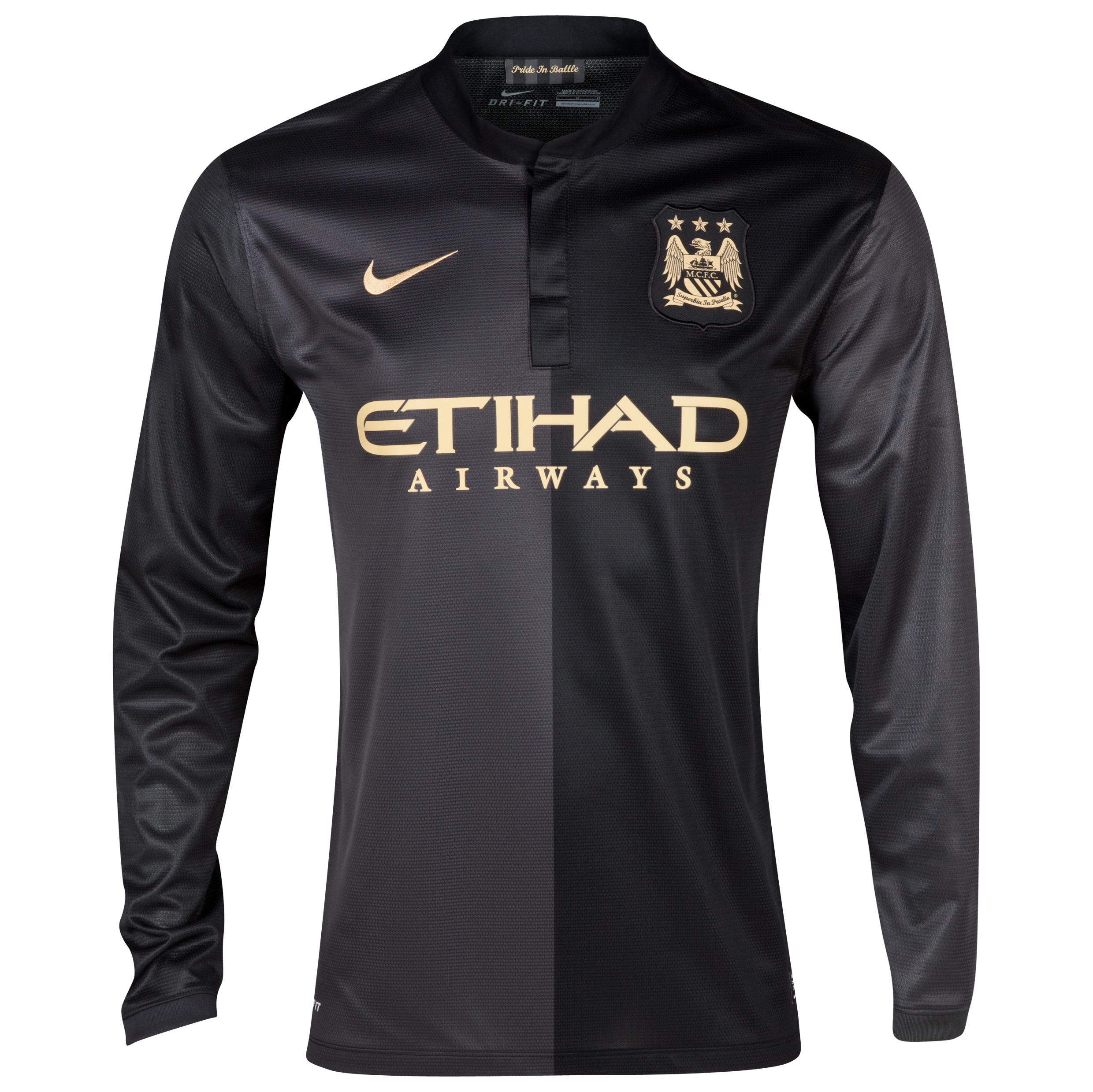Manchester City Away Shirt 2013/14 - Long Sleeved
