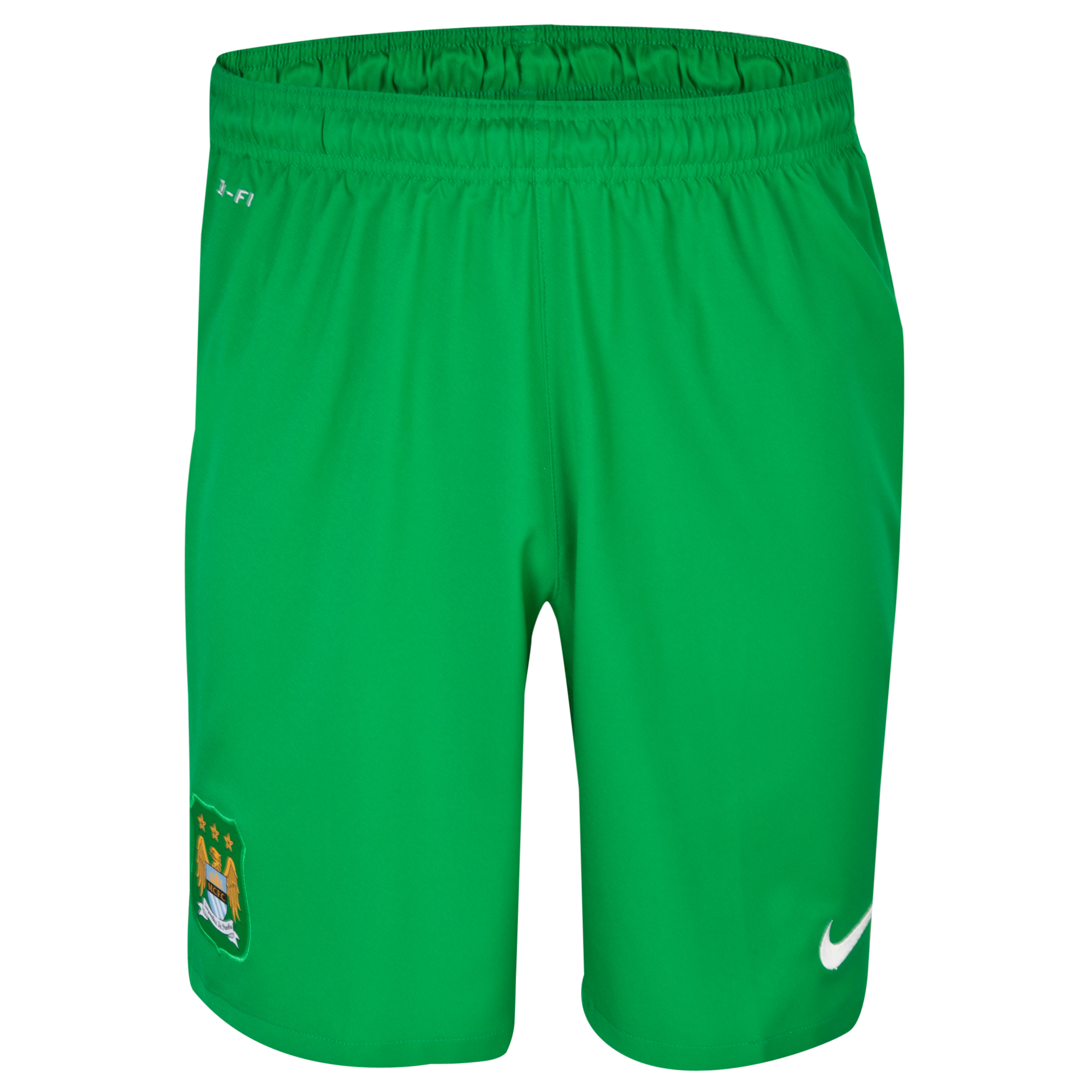 Manchester City Option 1 Goalkeeper Short 2013/14 - Green