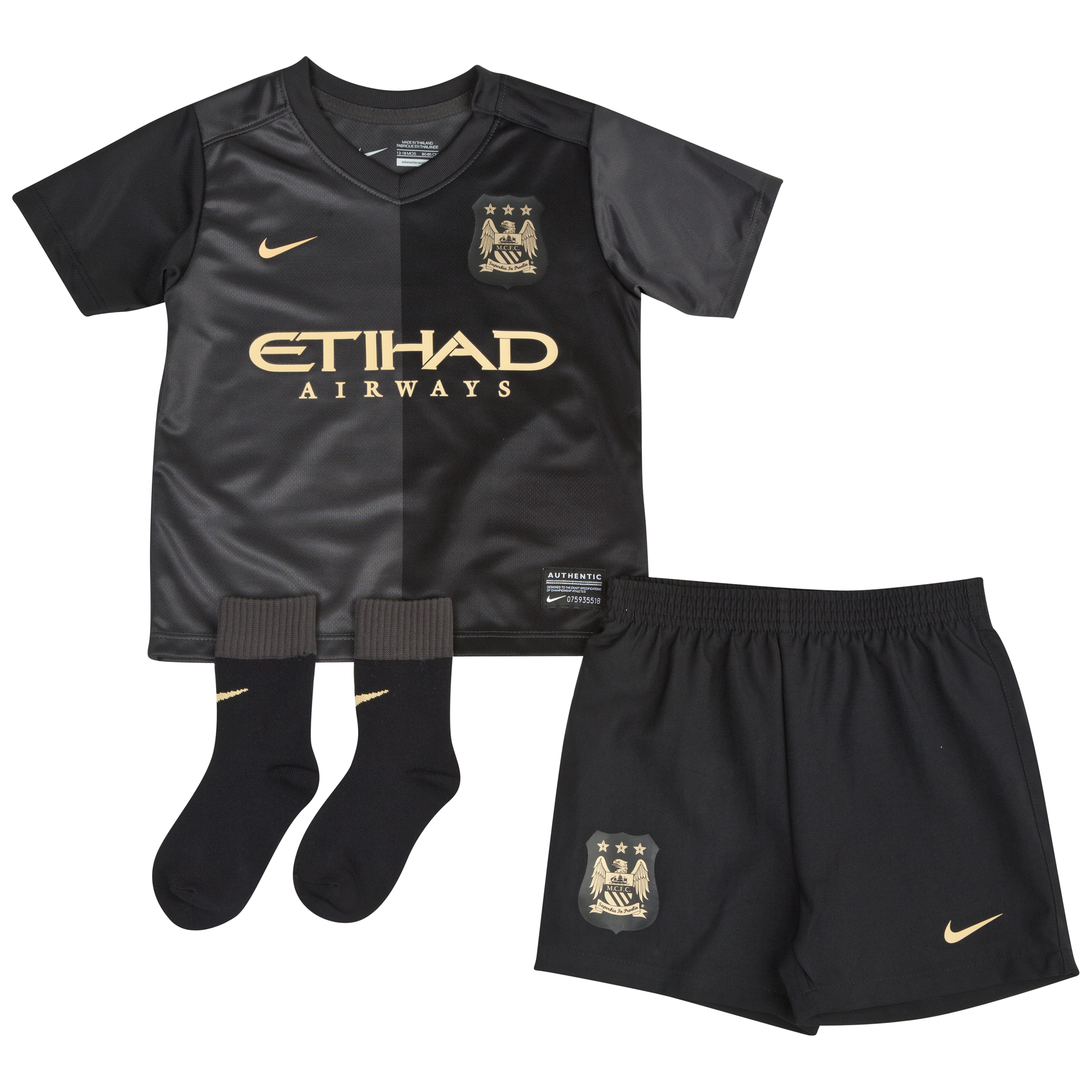 Manchester City Away Kit 2013/14 - Infants
