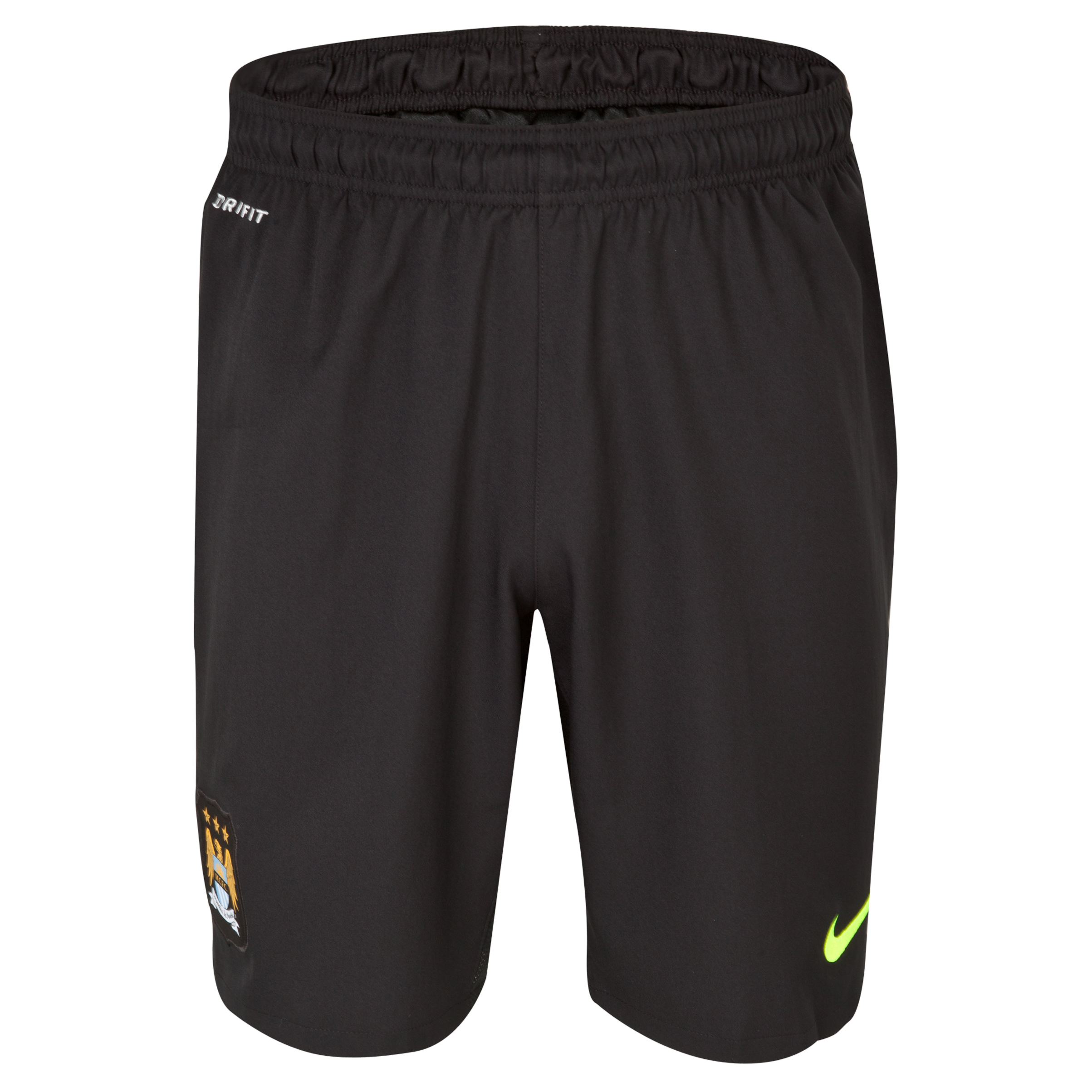 Manchester City Option 2 Goalkeeper Short 2013/14 - Junior - Black