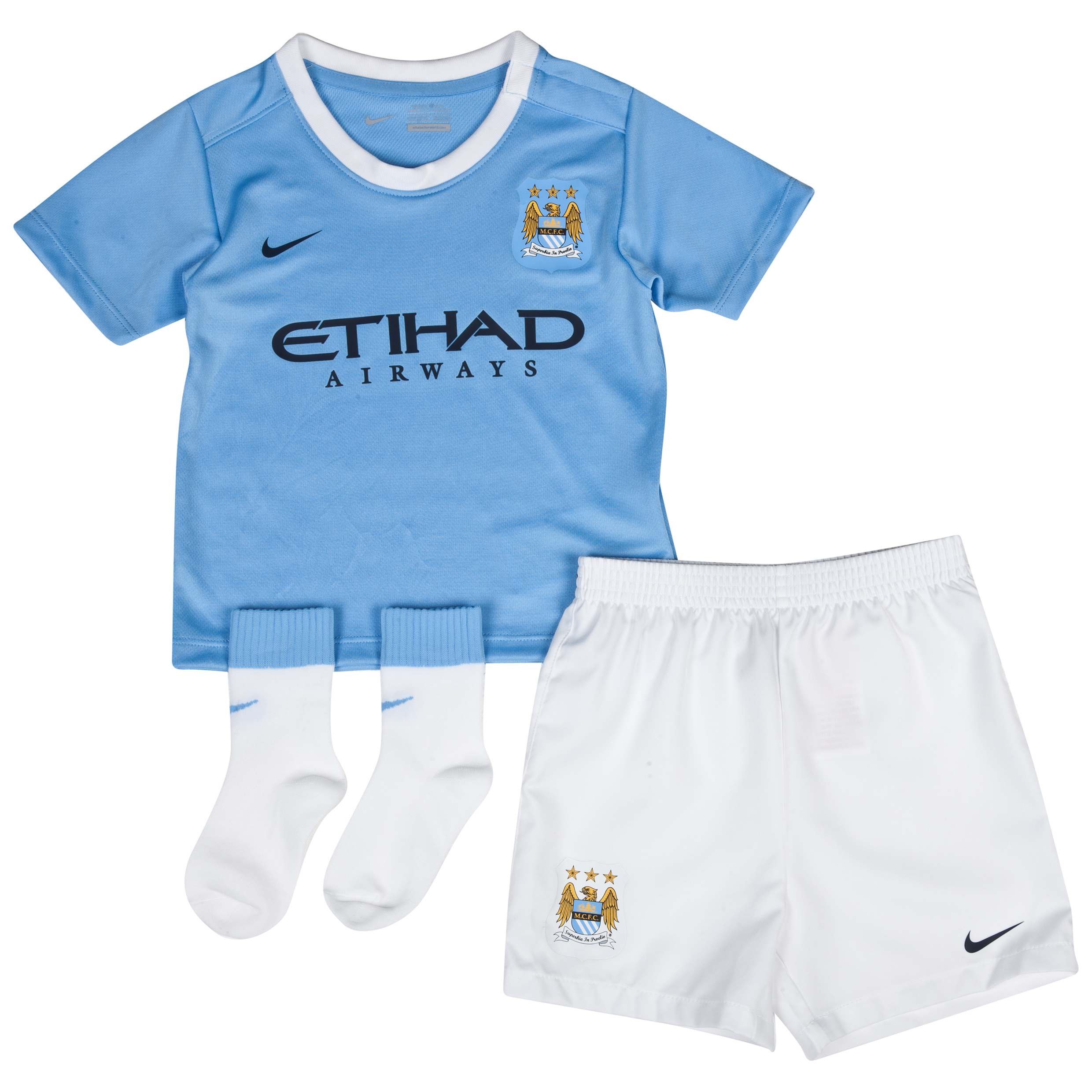 Manchester City Home Infants Kit 2013/14