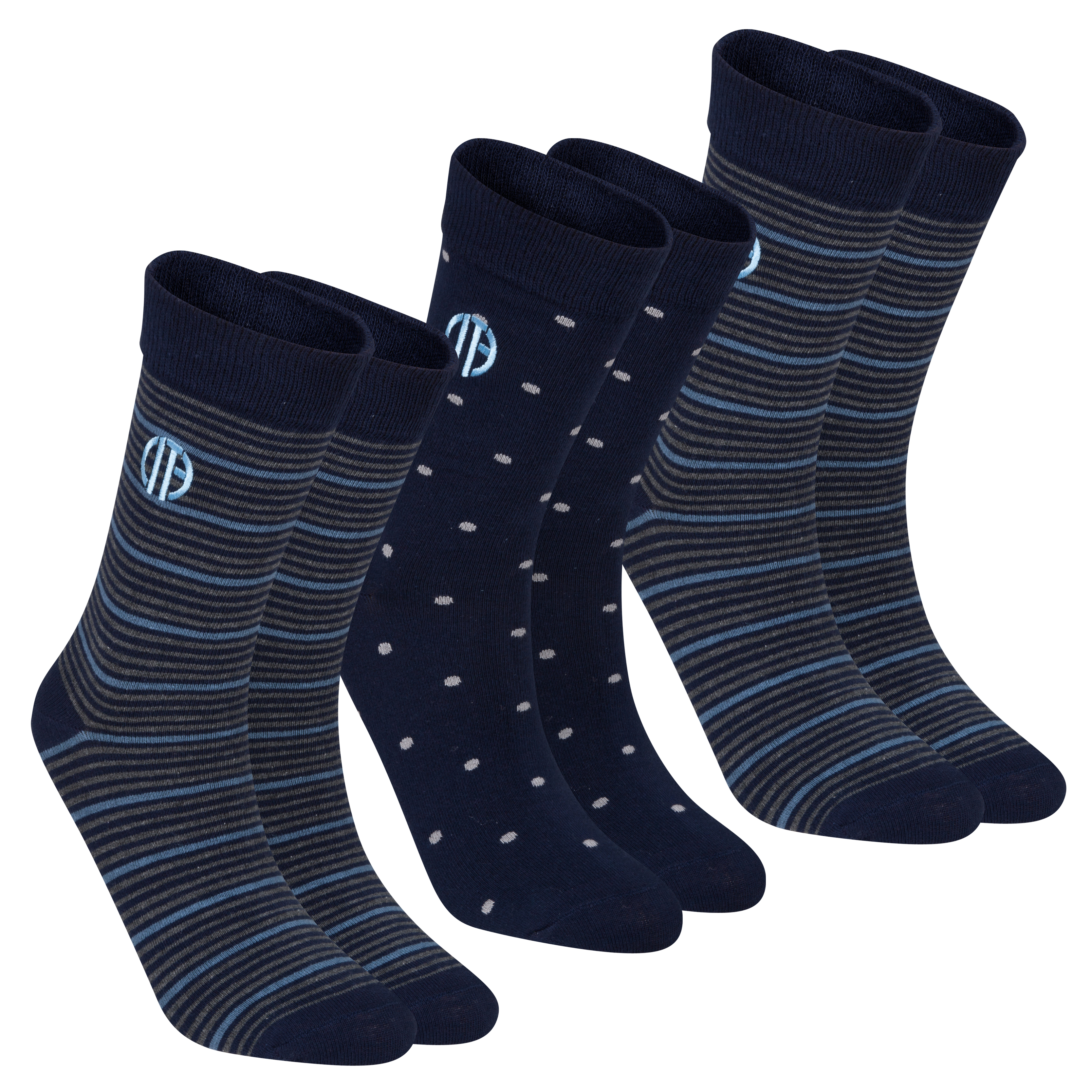 Manchester City Sock Giftbox - Mens Navy