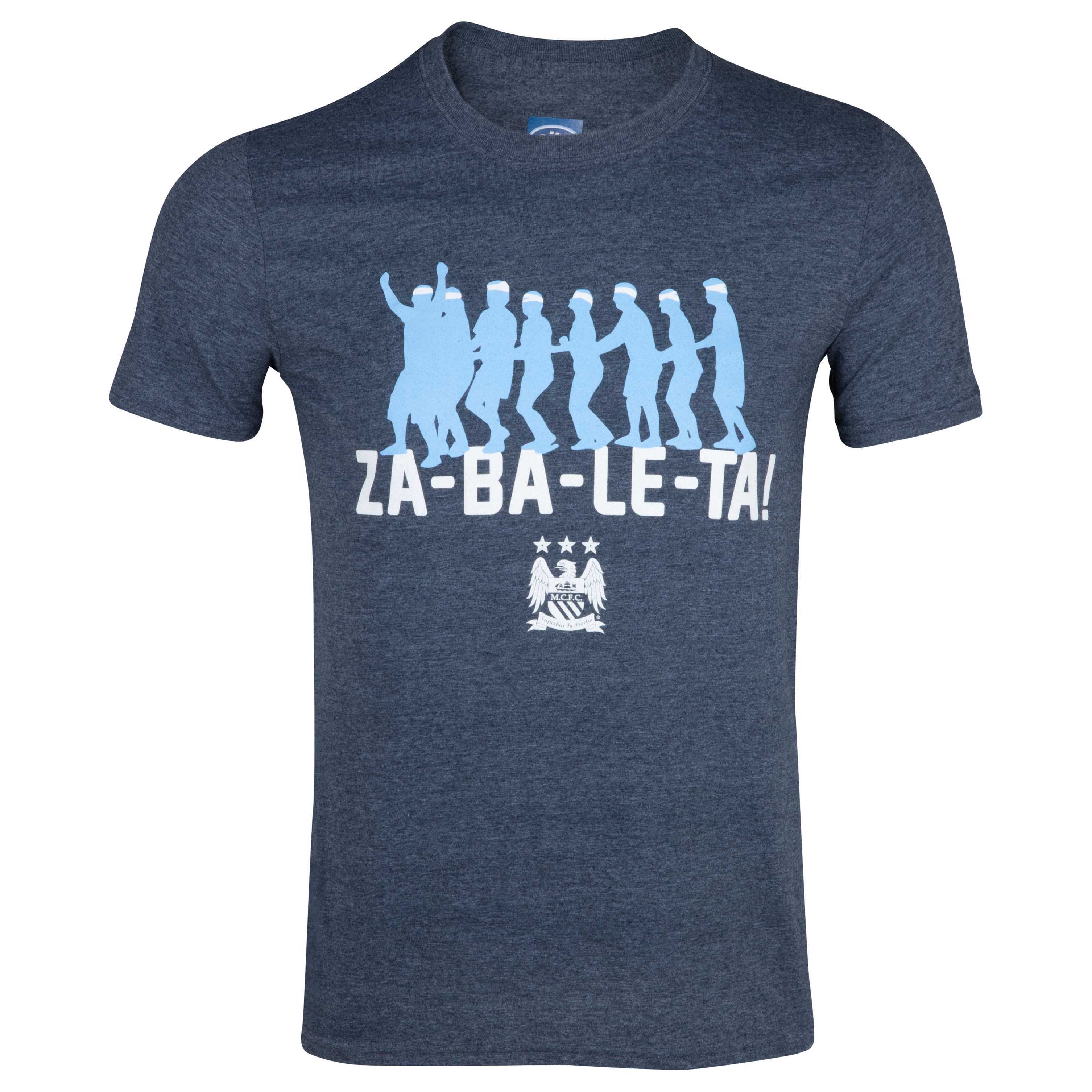 Manchester City 2for20 Conga T-Shirt - Mens Dk Blue