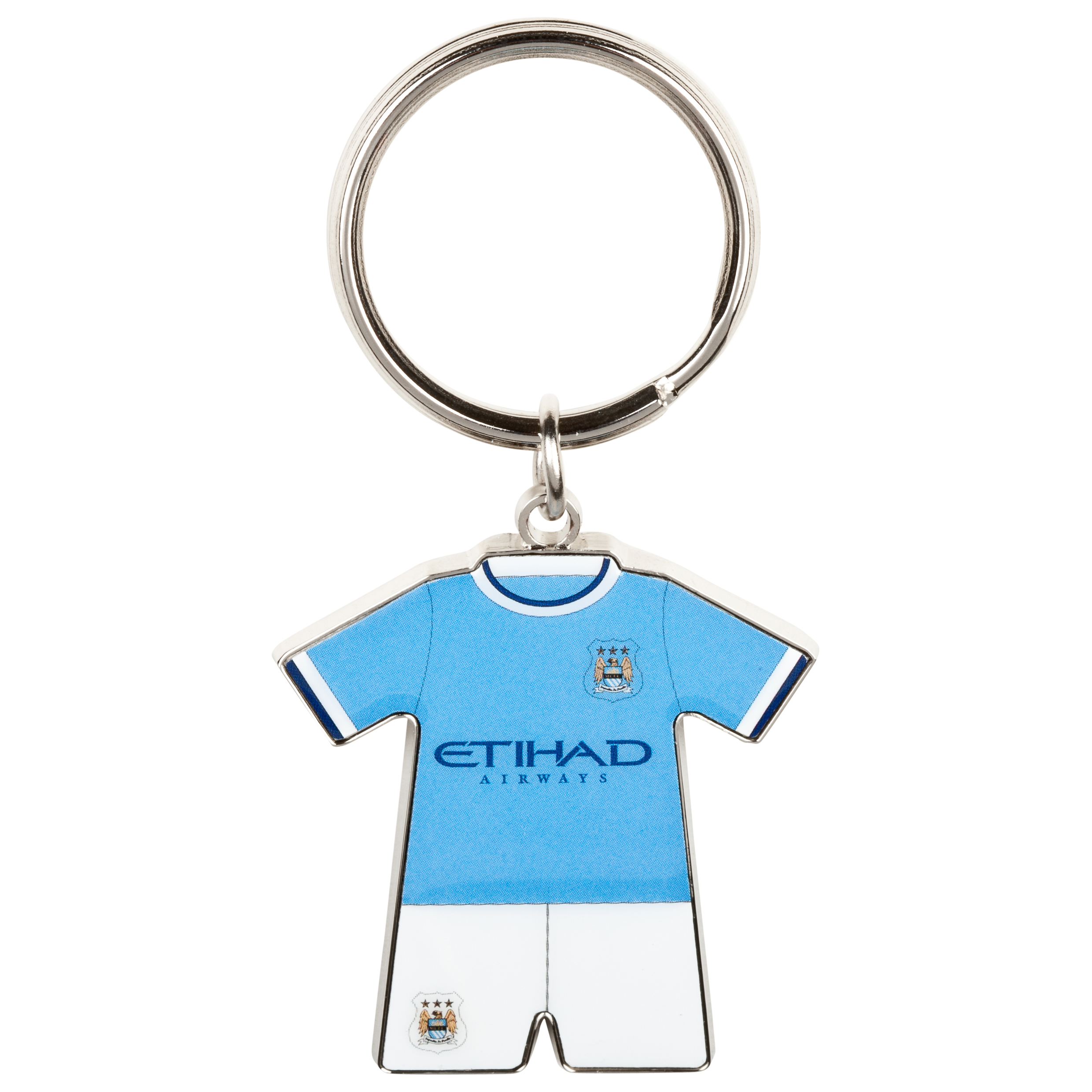 Manchester City Home Kit Keyring 13/14