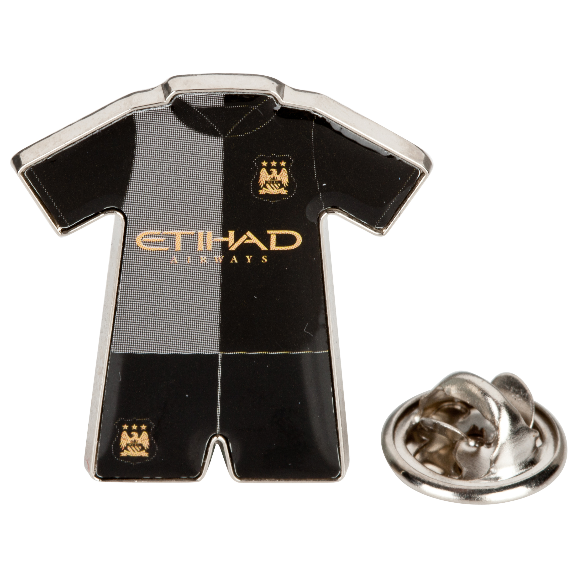 Manchester City Away Kit Badge 13/14