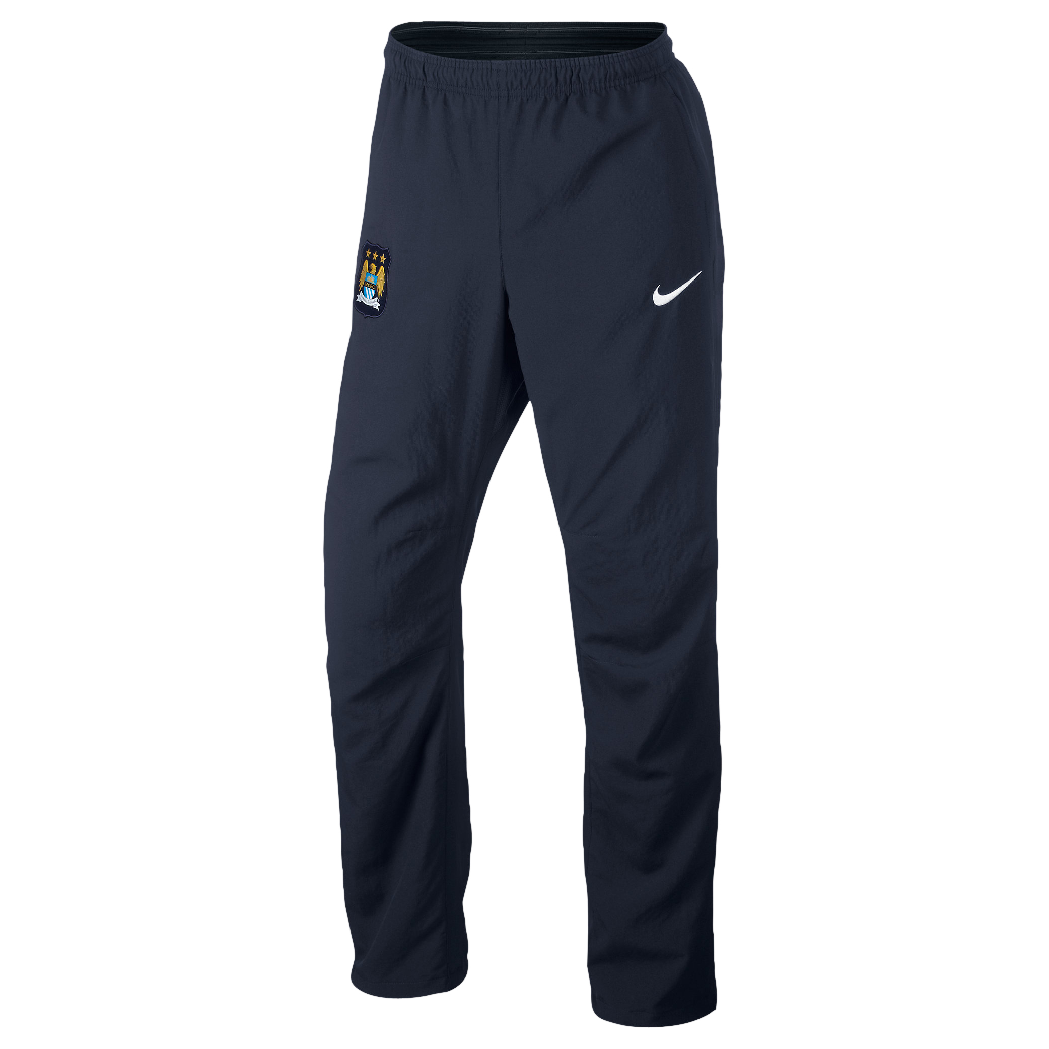Manchester City Sideline Woven Track Pant - Mens Blue