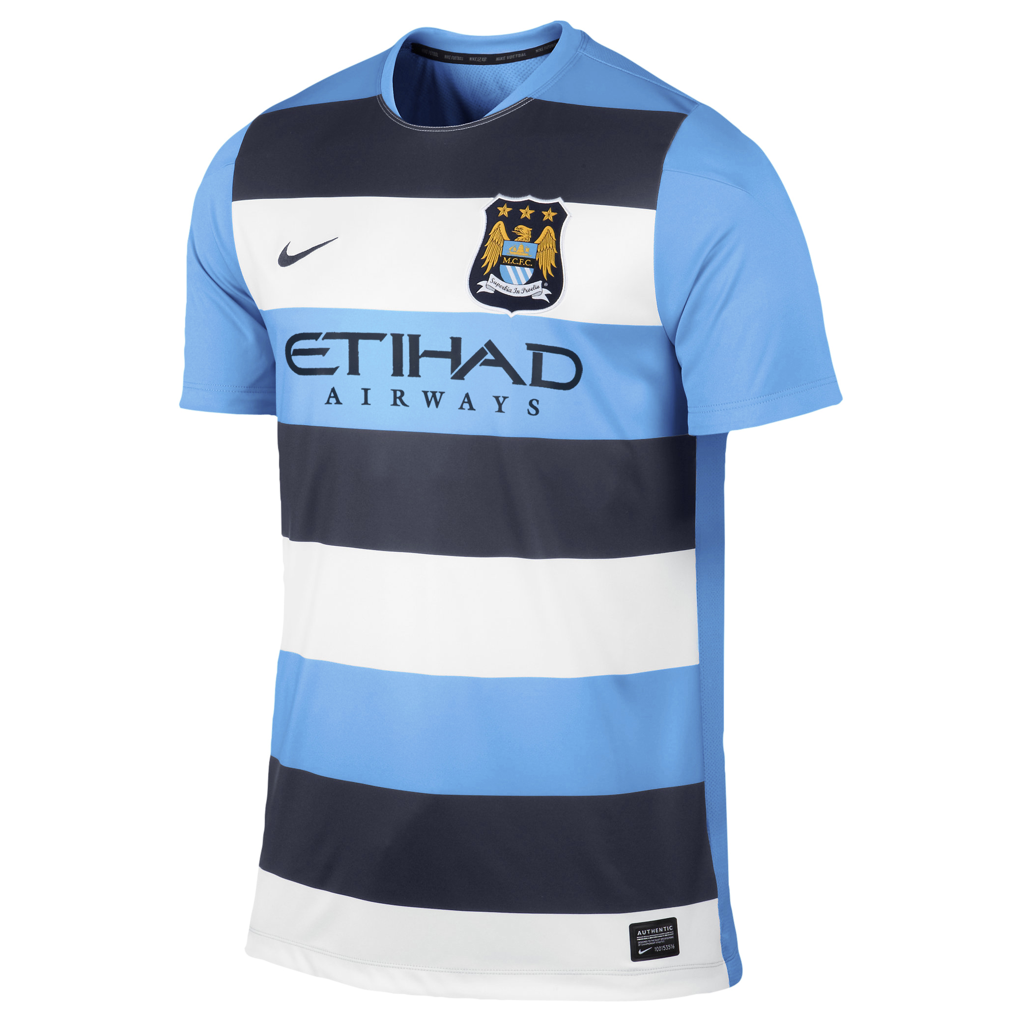 Manchester City Pre-Match Training Top - Mens Blue