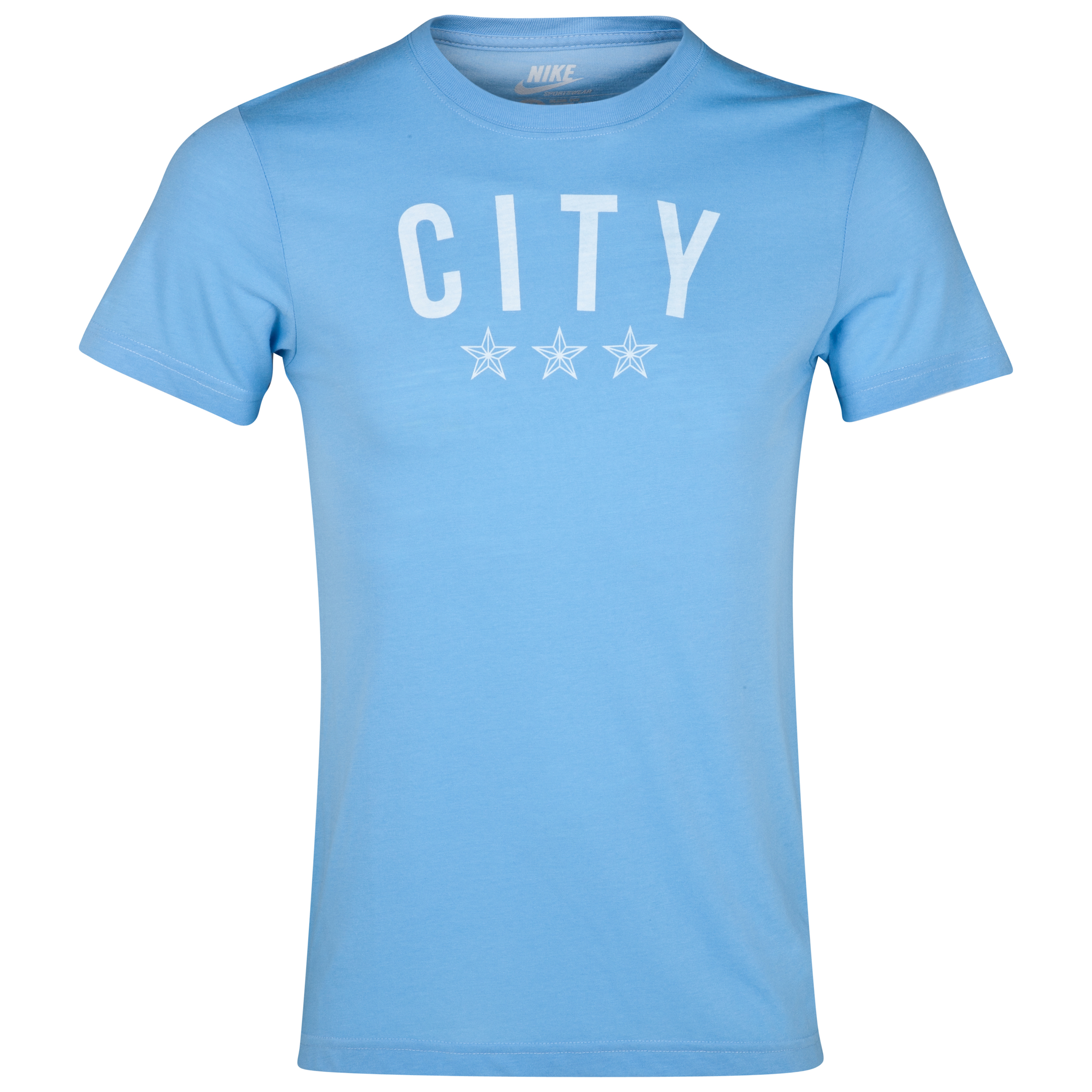 Manchester City Covert Graphic T-Shirt - Mens Blue
