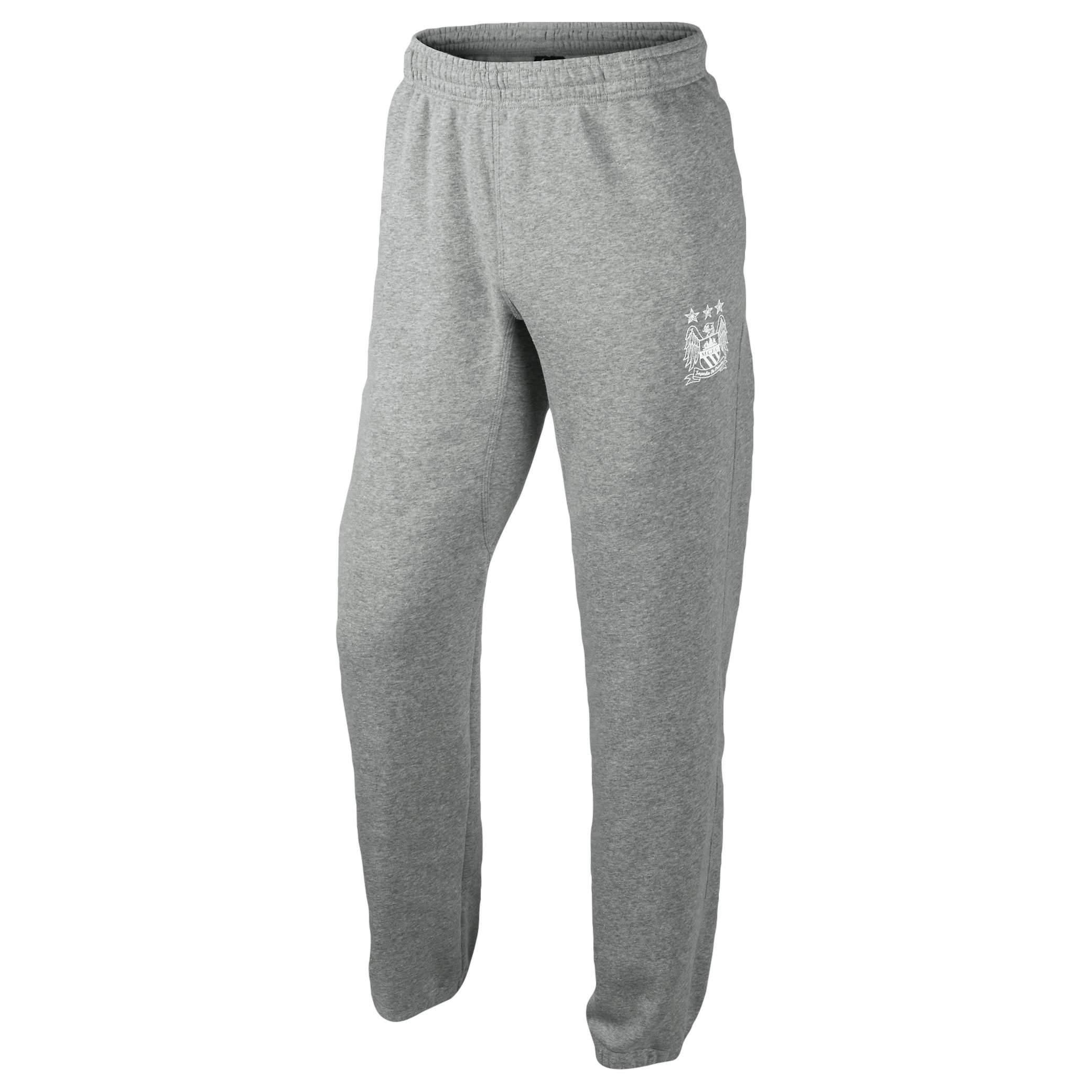 Manchester City Core Fleece Cuff Pant - Mens Grey