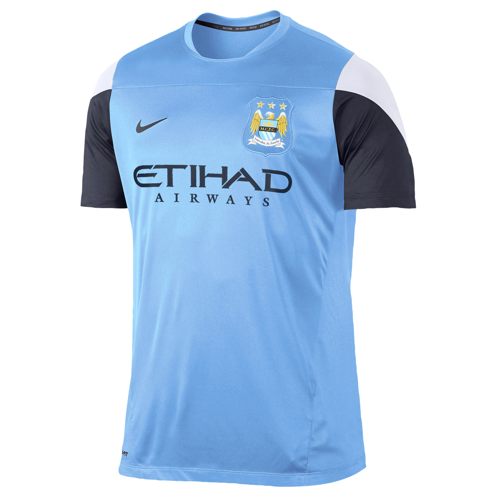 Manchester City Training Top - Junior Blue