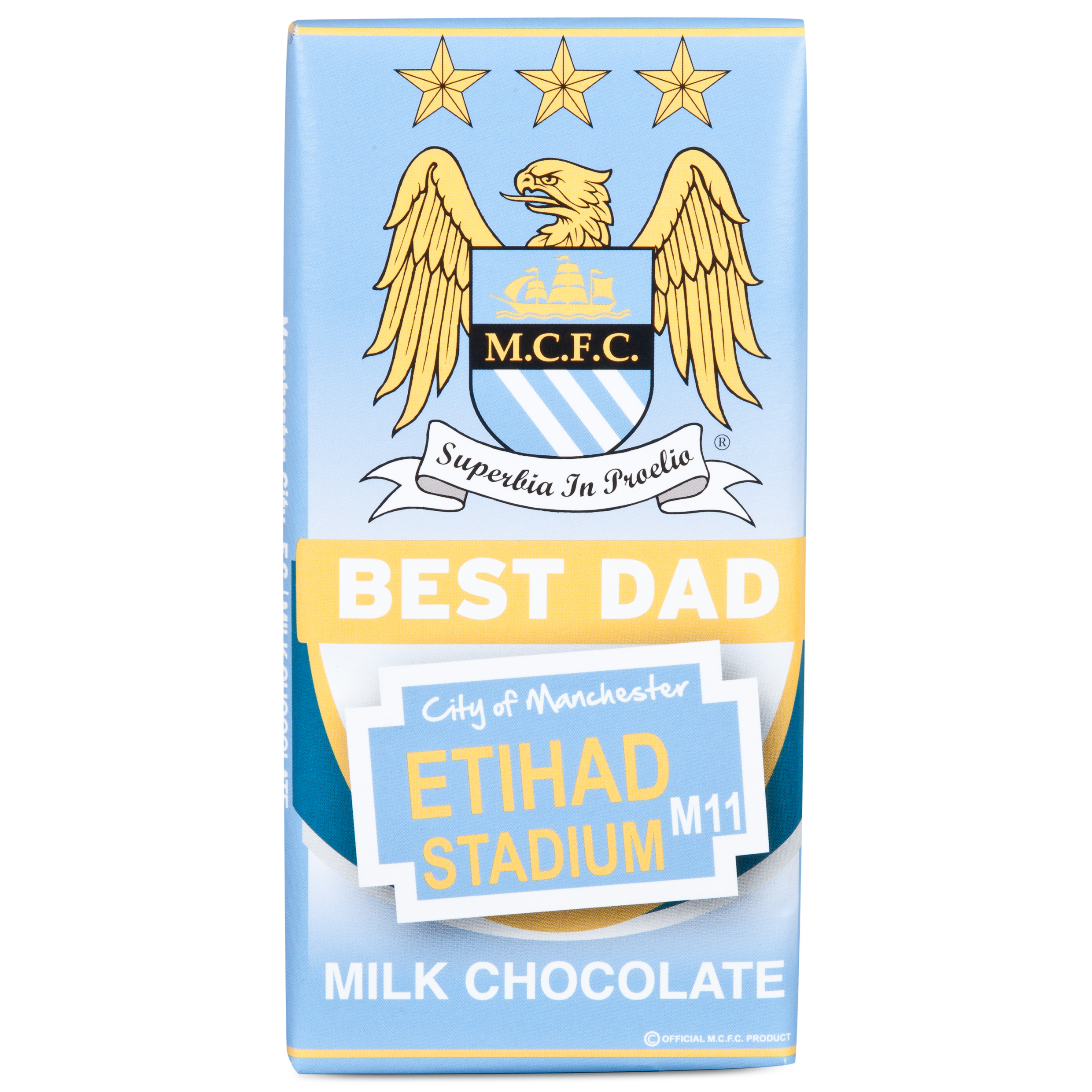 Manchester City Personalised Chocolate Bar