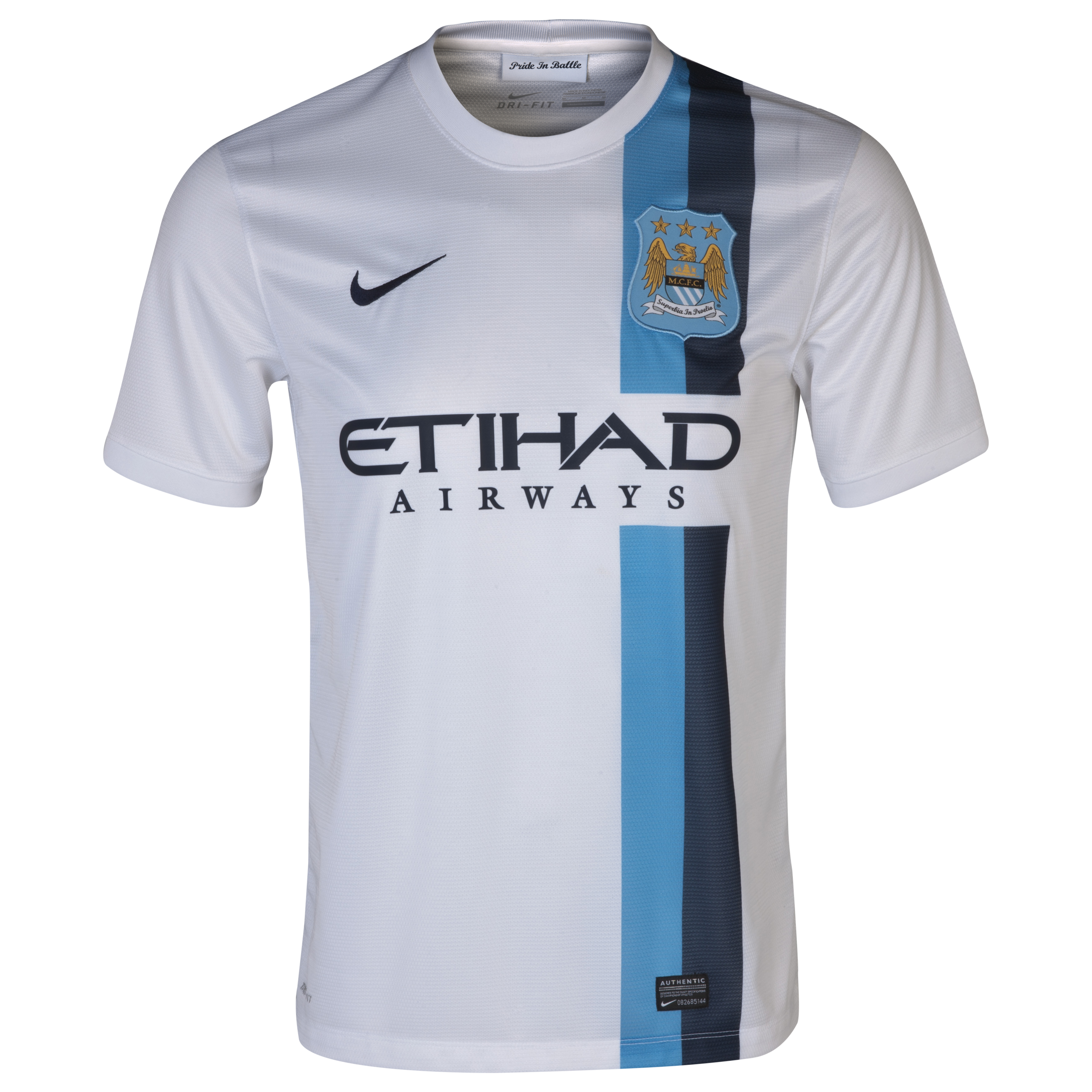 Manchester City Cup Away Shirt 2013/14 White