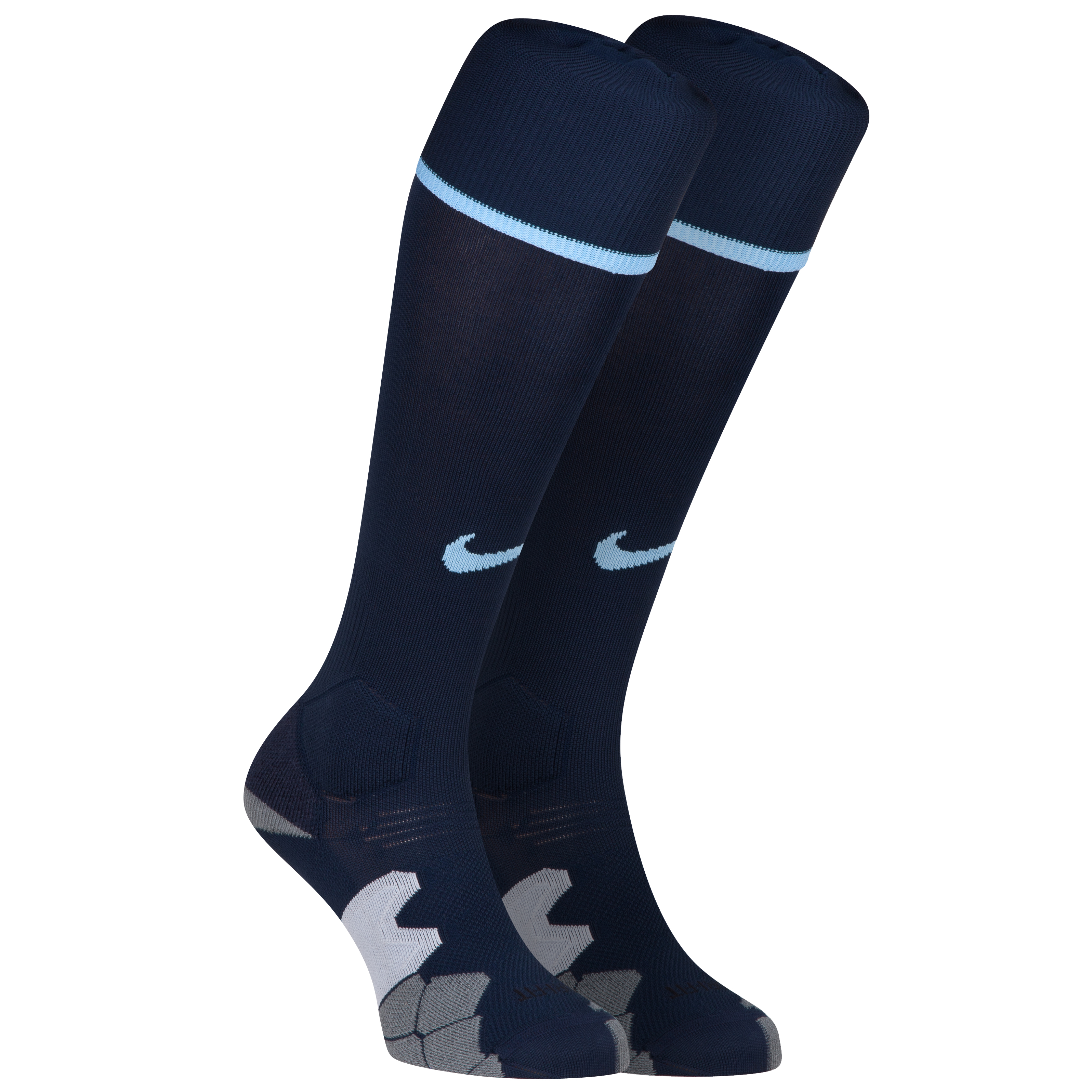 Manchester City Cup Away Sock 2013/14 Dk Blue