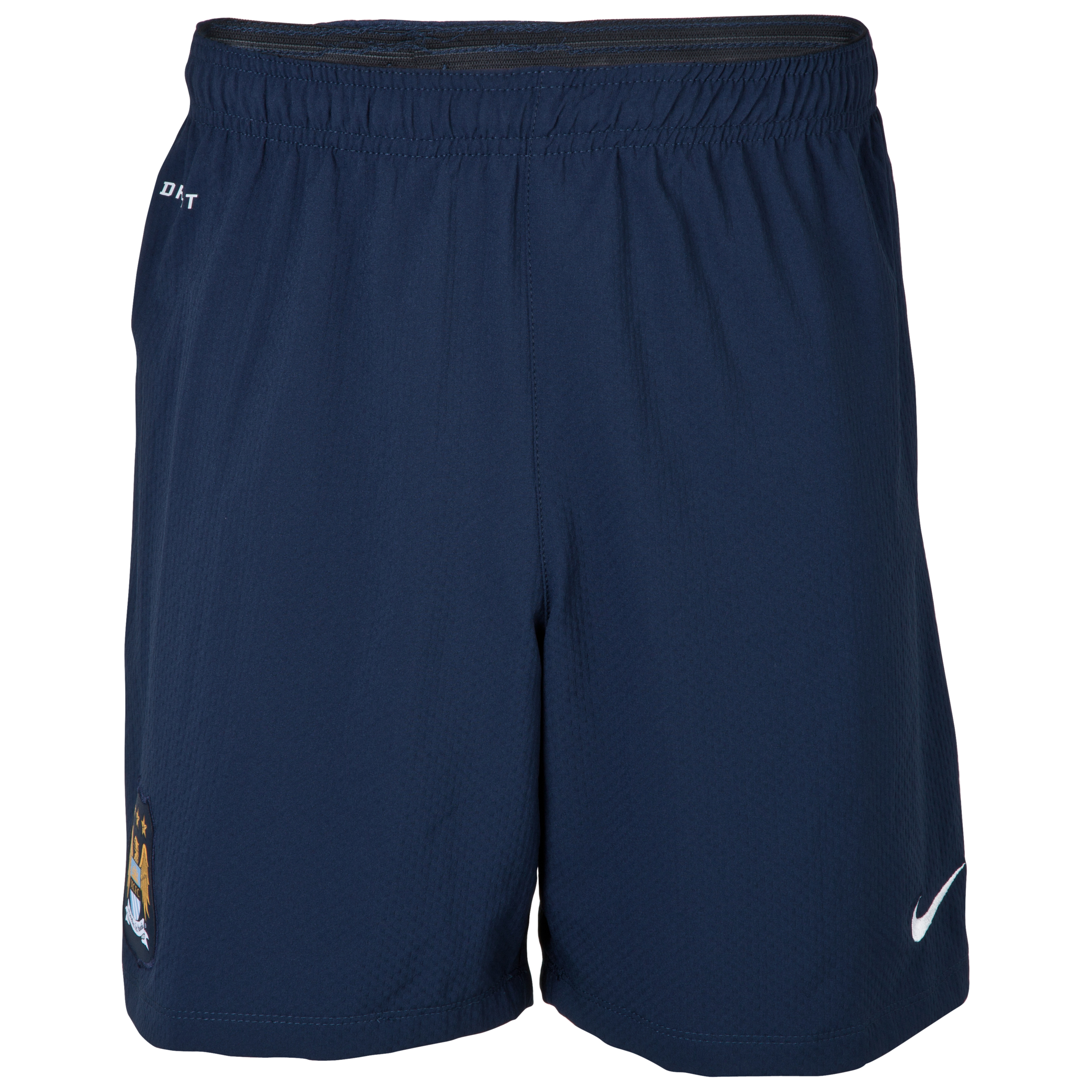 Manchester City Woven Short - Mens Navy