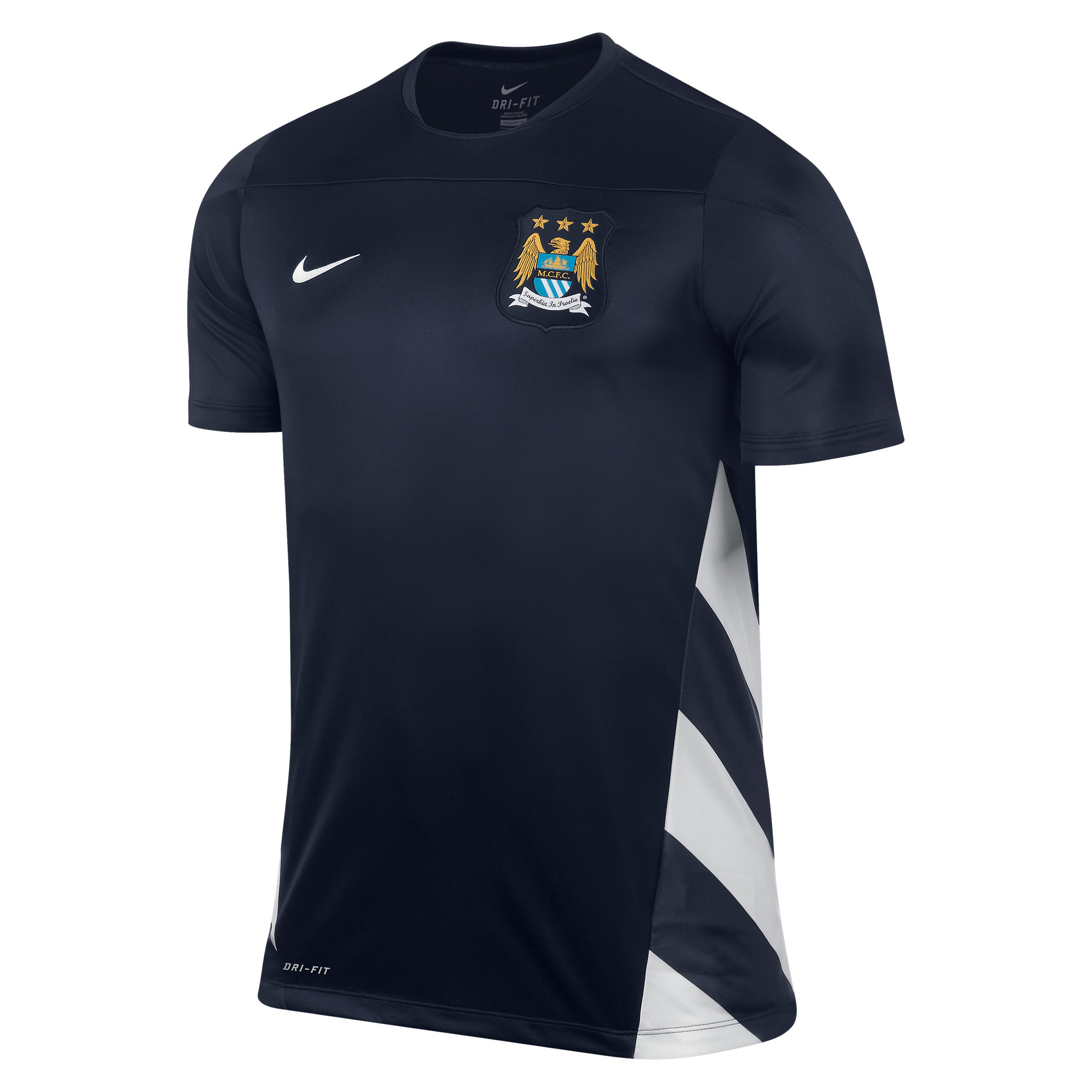 Manchester City UCL Squad Training Top - Mens Dk Blue