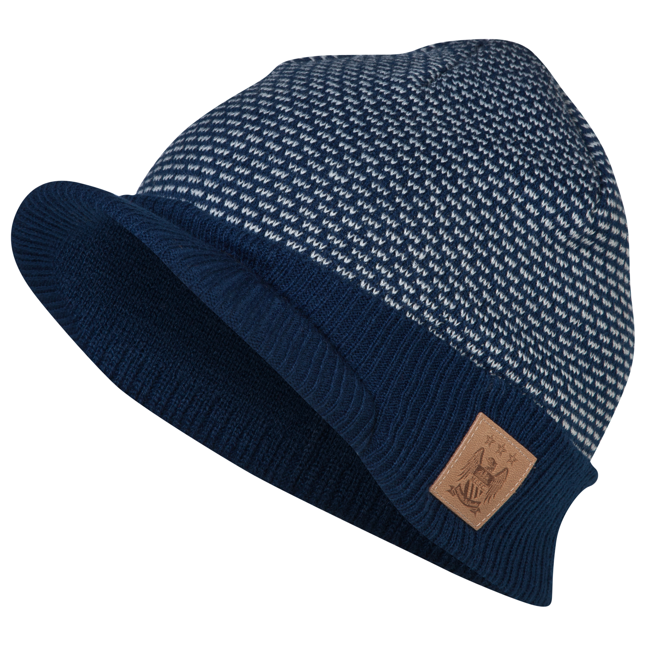 Manchester City Dash Peak Hat Navy
