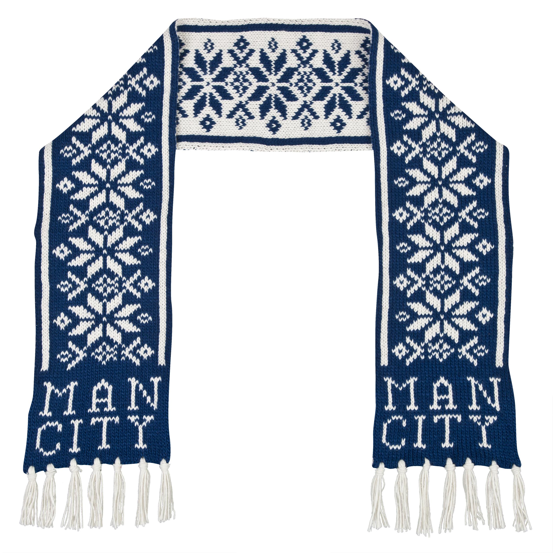 Manchester City Lexicon Scarf Dk Grey
