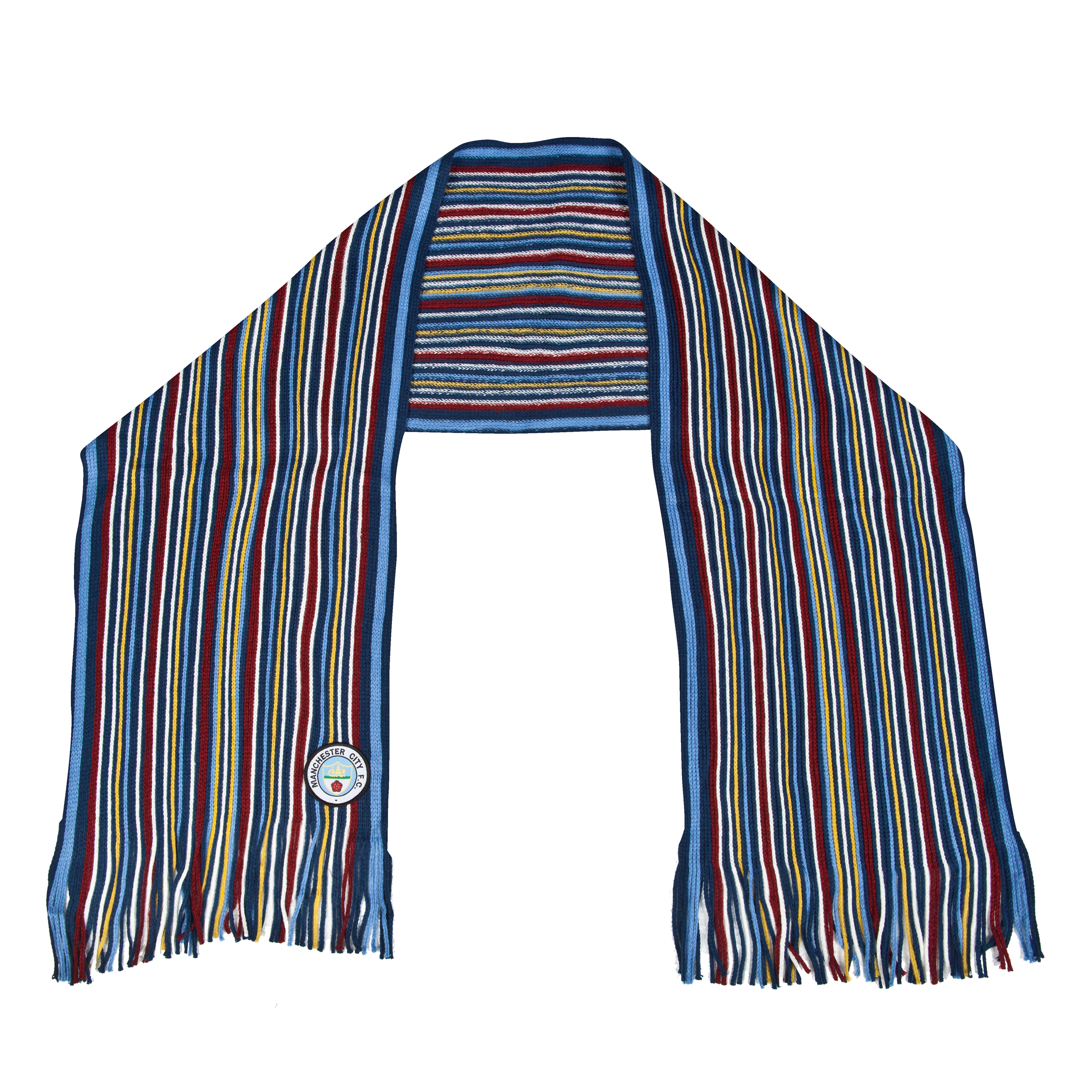 Manchester City Retro Scarf Multi