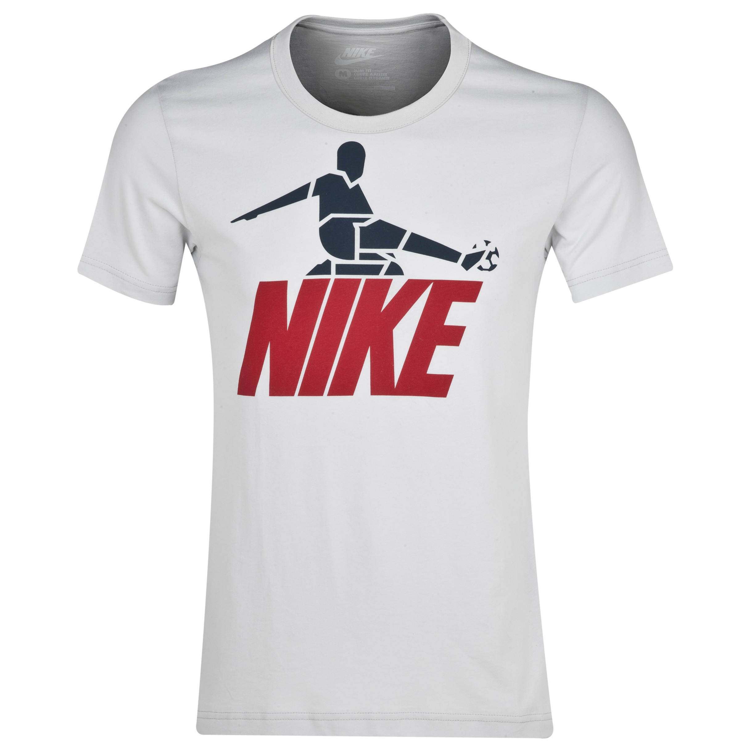Nike Sliderman Tshirt Lt Grey