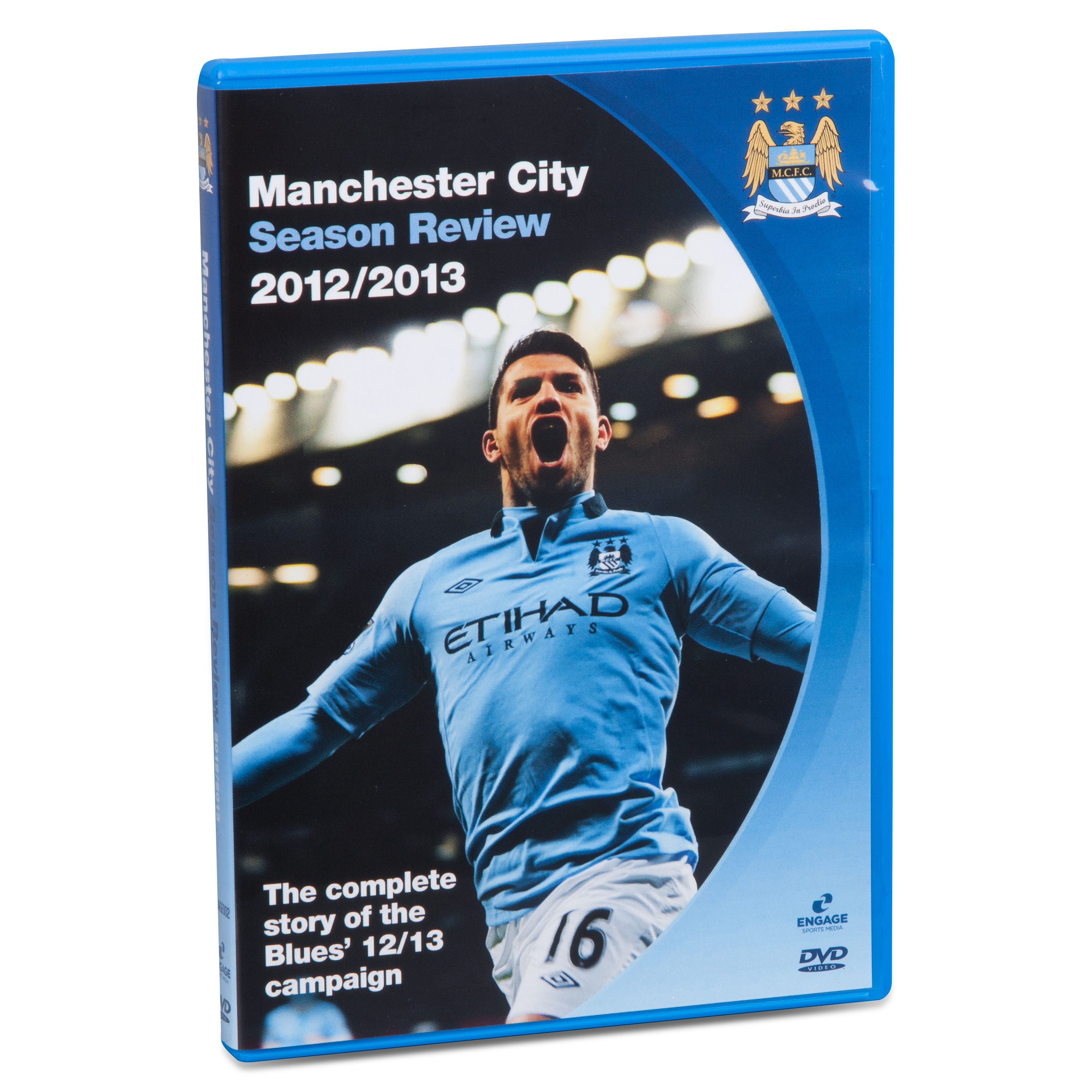 Manchester City Season Review 2012/2013 DVD