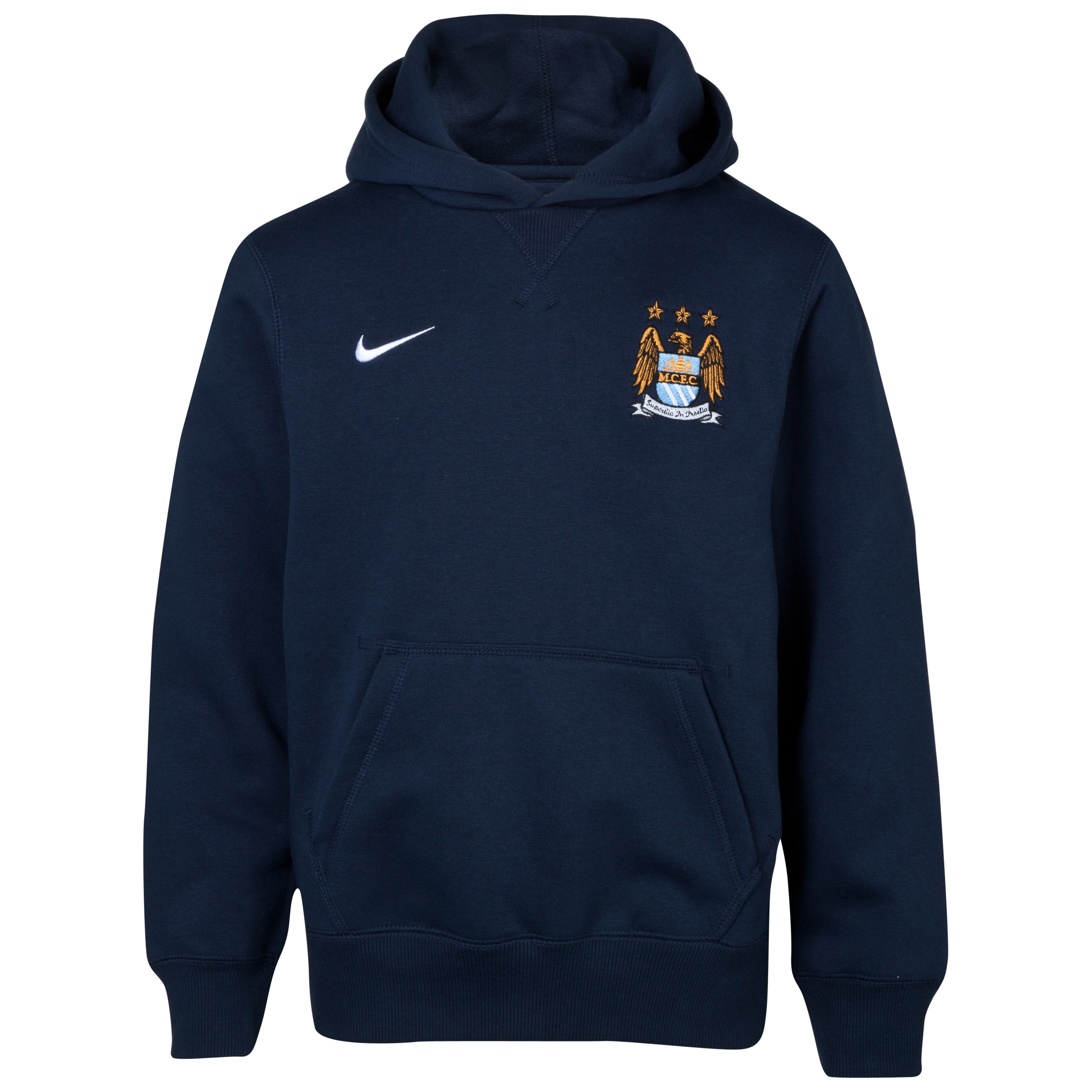 Manchester City Core Hoodie -Junior -Obsidian Blue