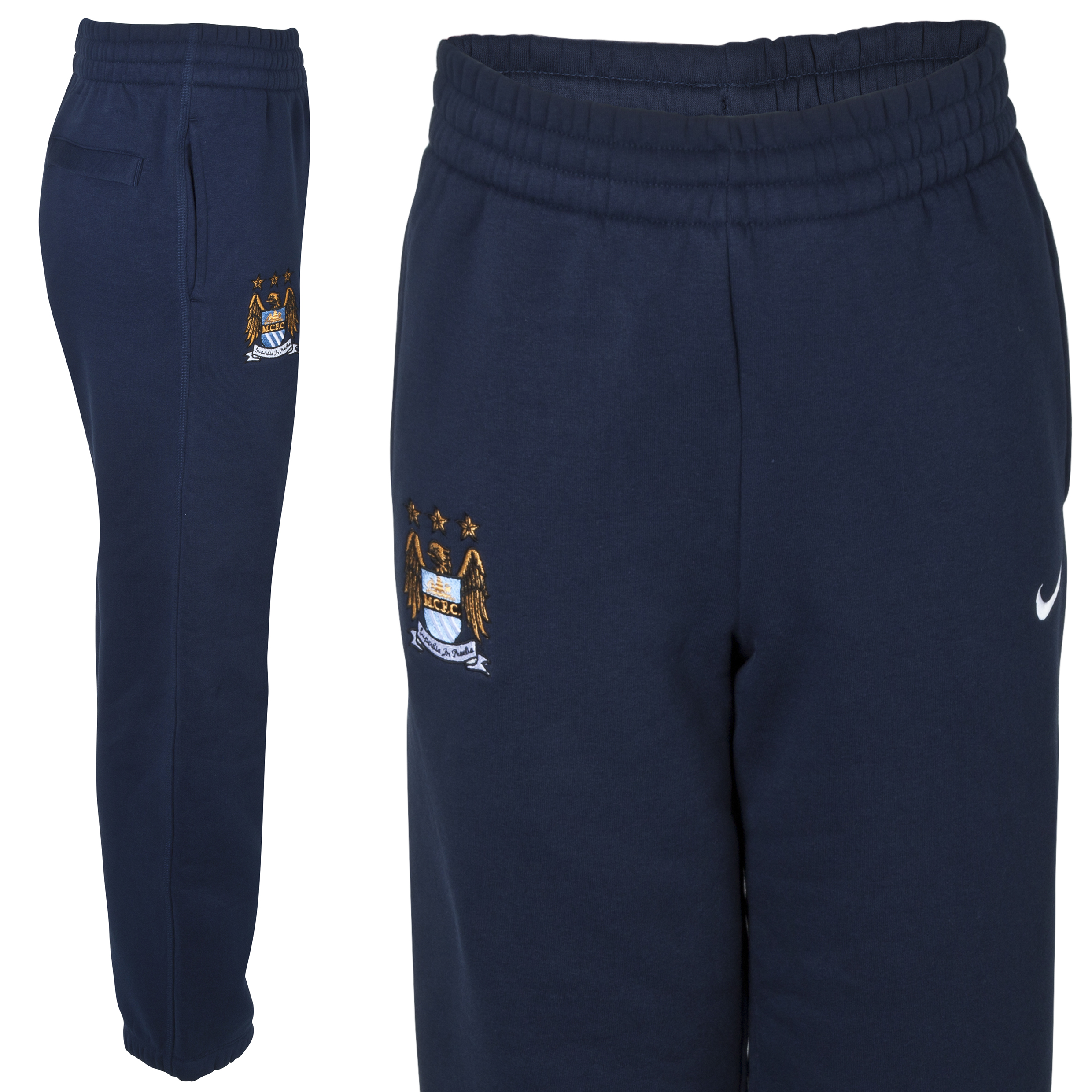 Manchester City Core Pant - Junior -Obsidian Blue