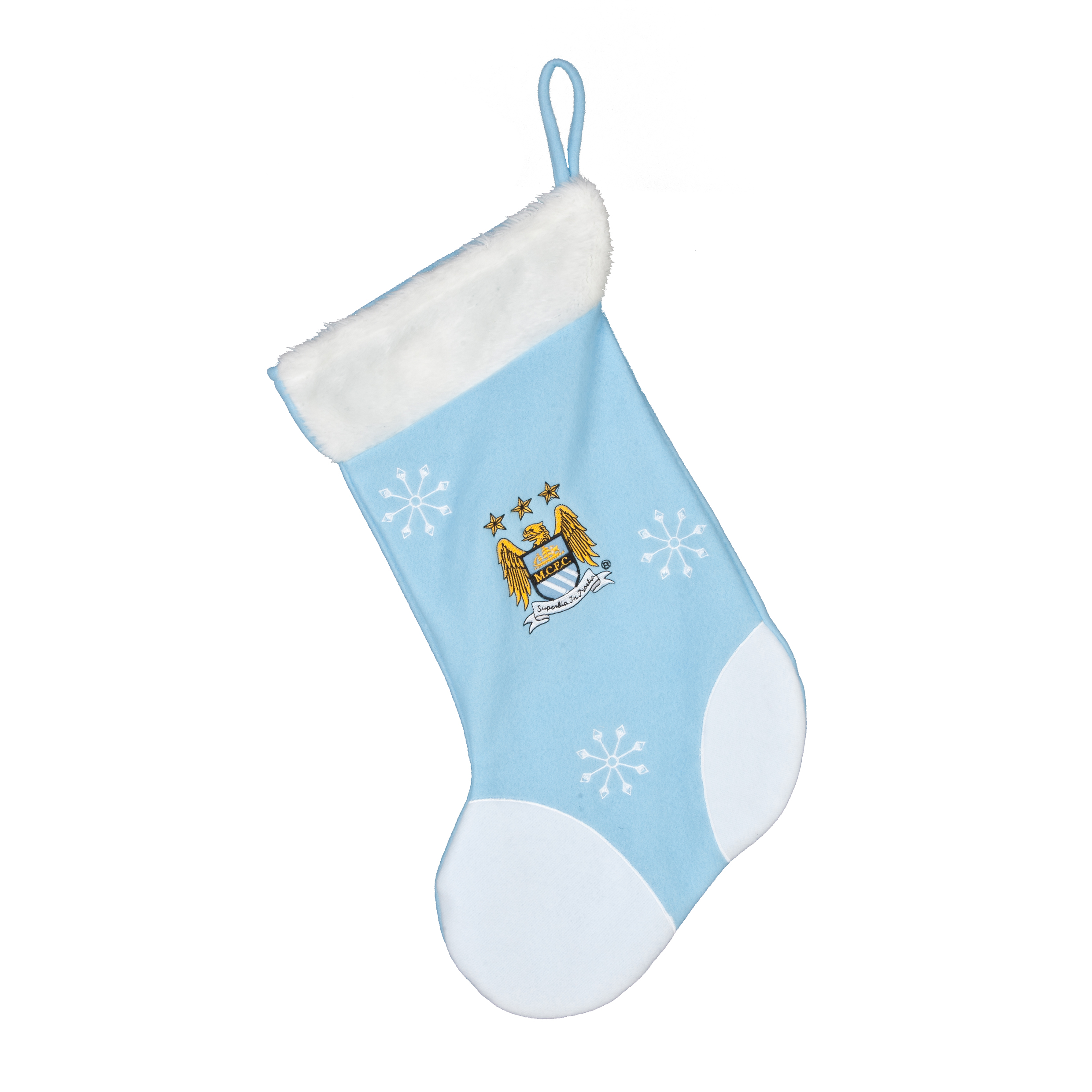 Manchester City Santa Stocking