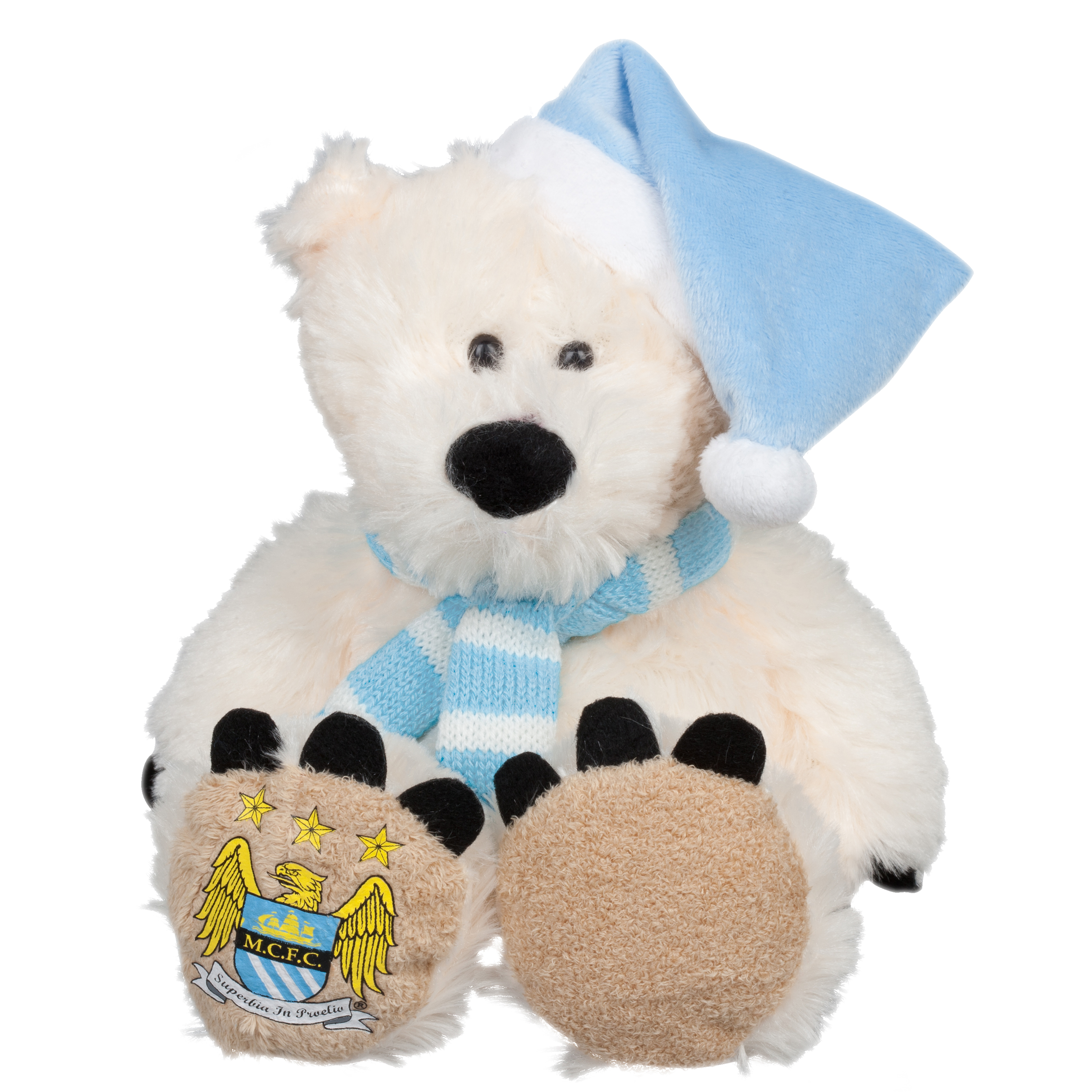 Manchester City Polar Bear 8 inch