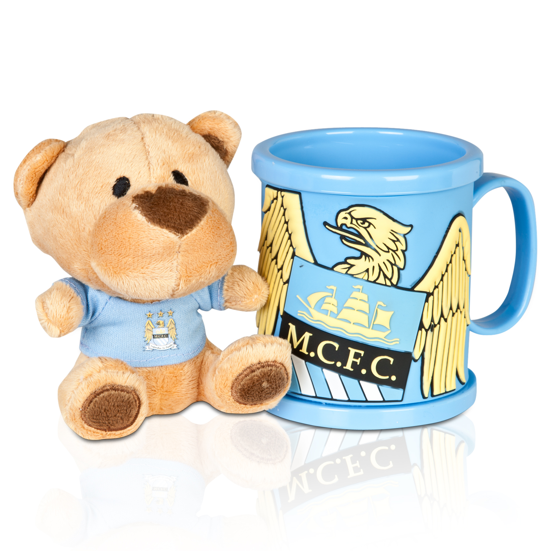 Manchester City Bear and Mug Set