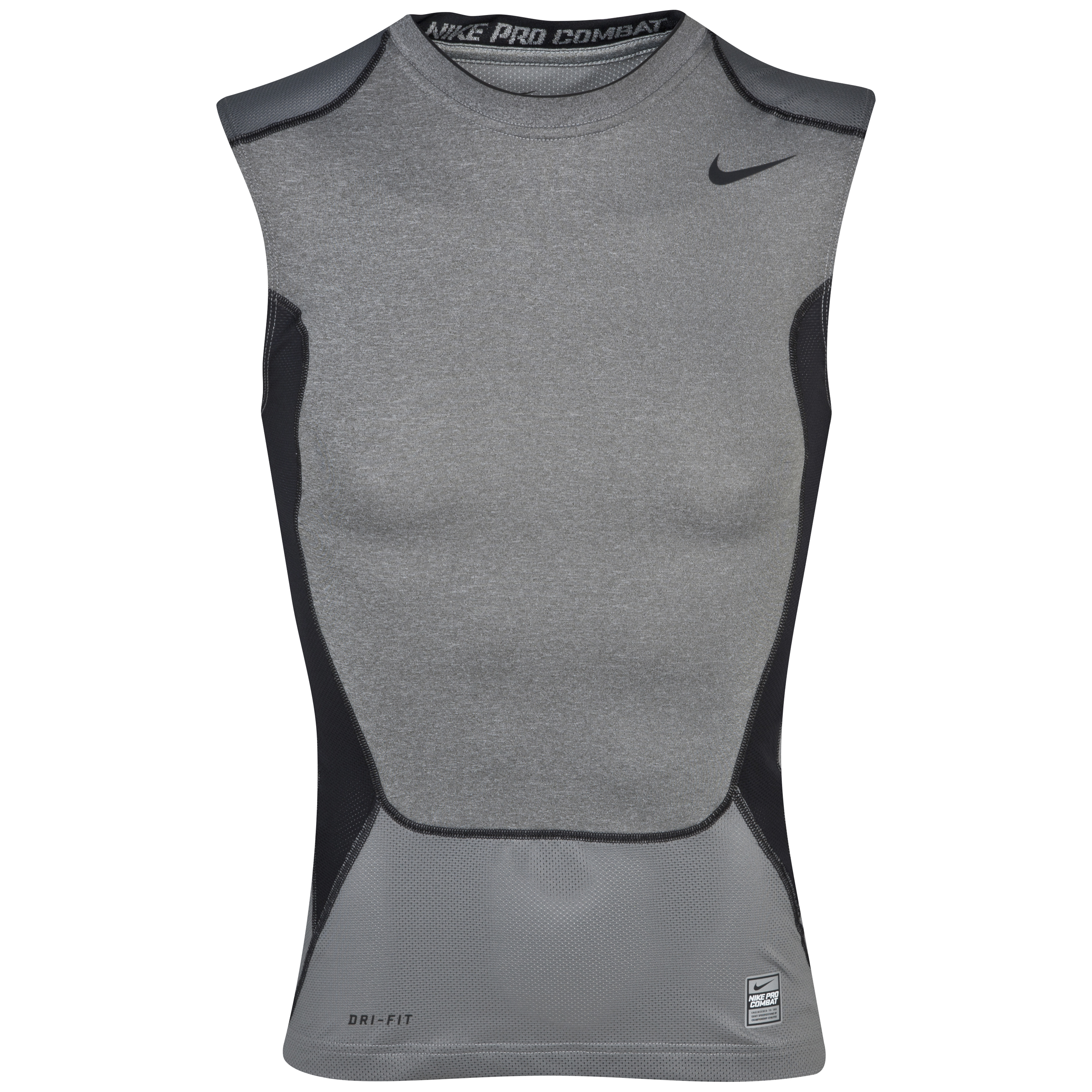 Manchester City Hypercool Comp SL Top 2.0 Grey