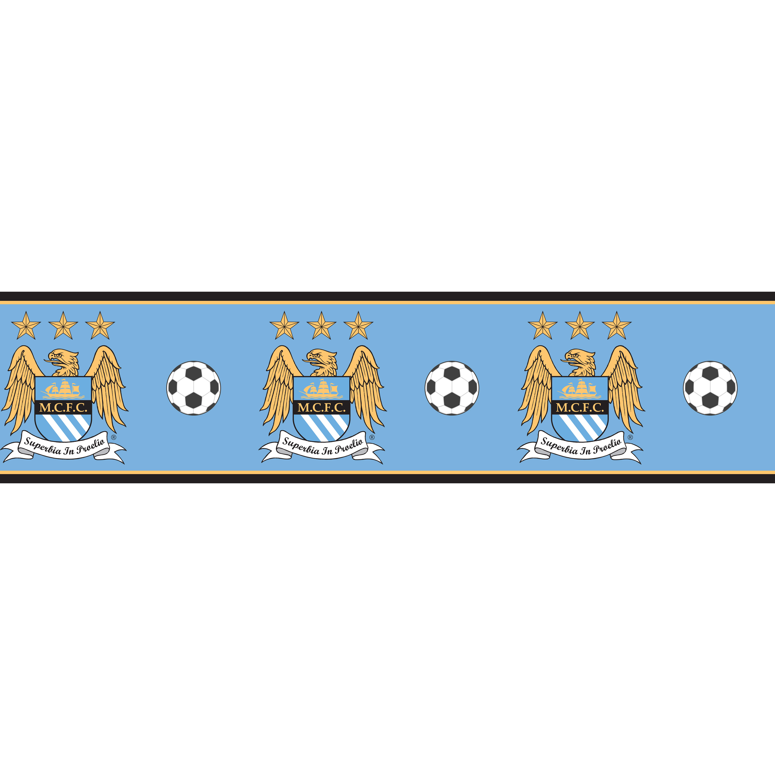 Manchester City Wallpaper Border