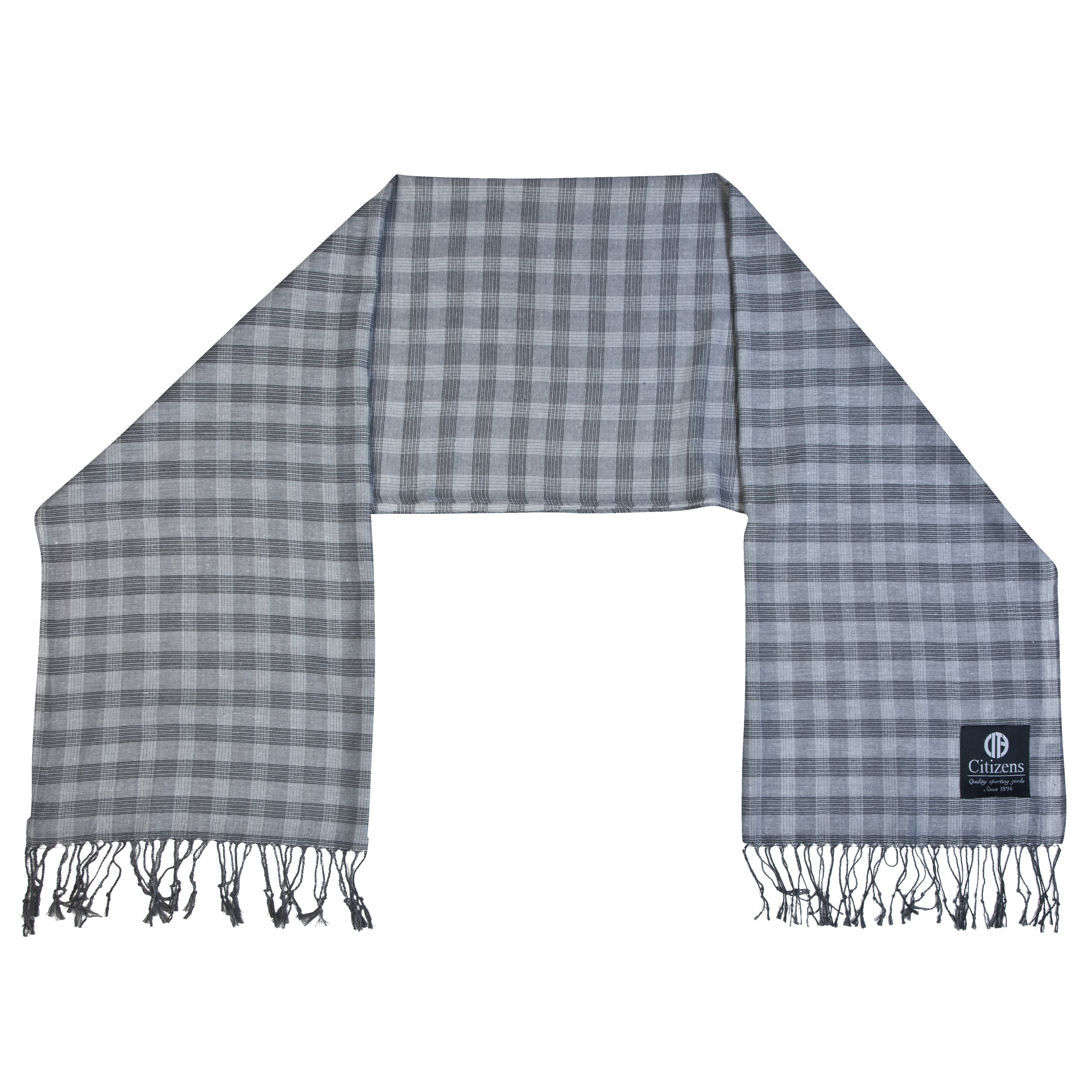 Manchester City Woven Scarf Grey