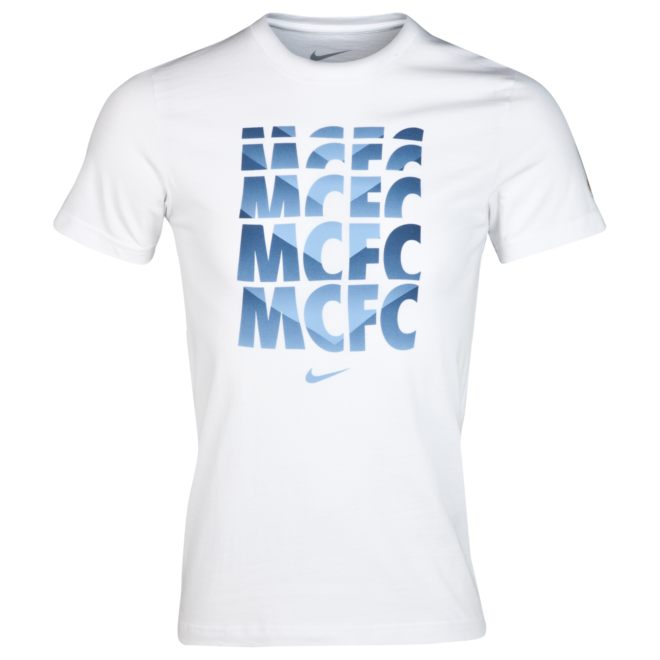 Manchester City Core Type T-Shirt White
