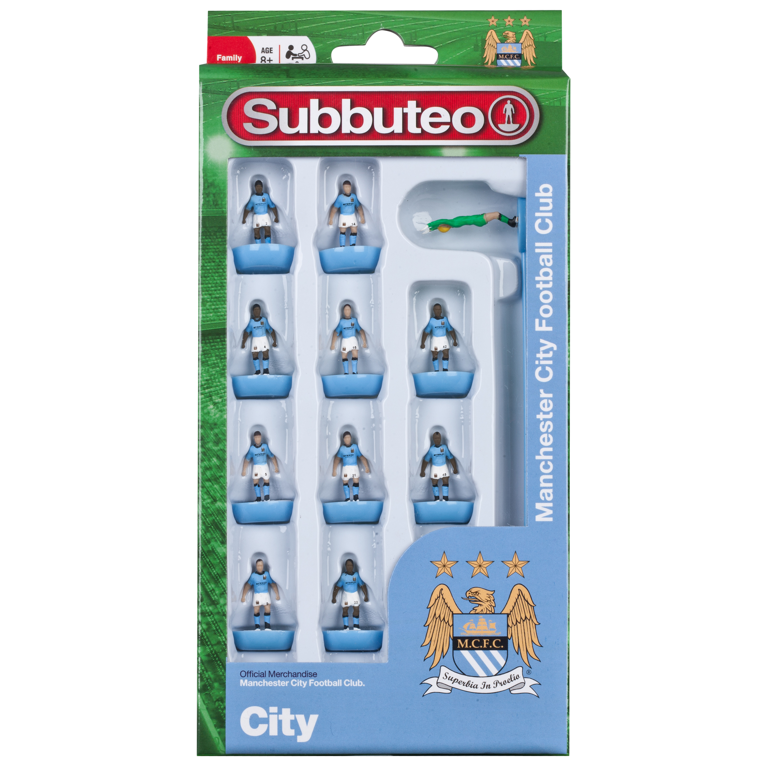Manchester City Subbuteo Team Set