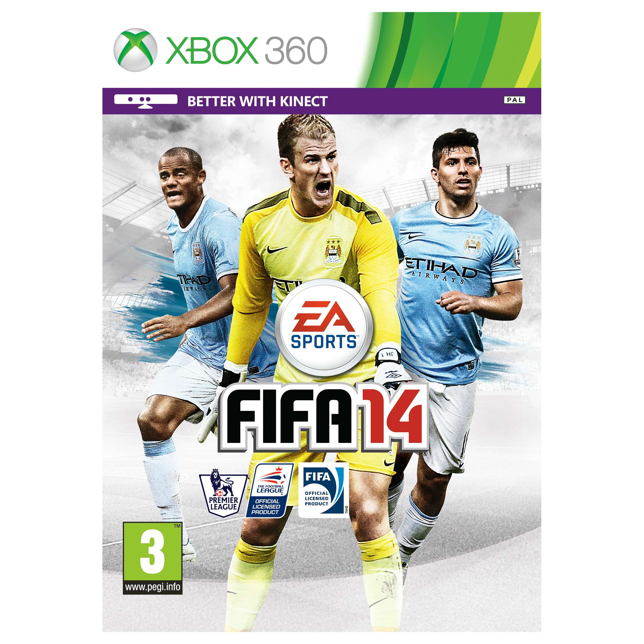 Manchester City Fifa 14 Xbox 360 Game - MCFC Exclusive Cover