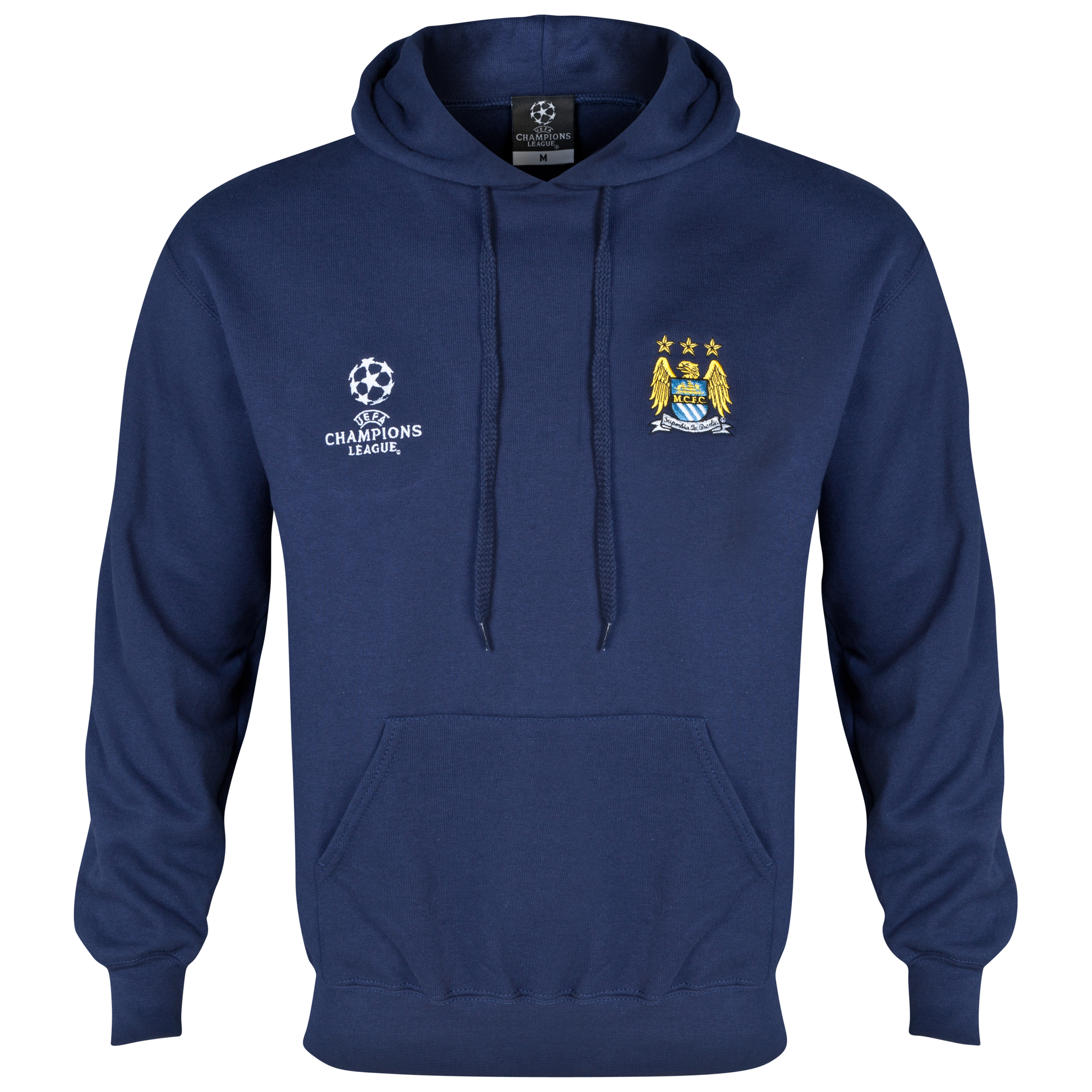 Manchester City UEFA Champions League Hoody Navy