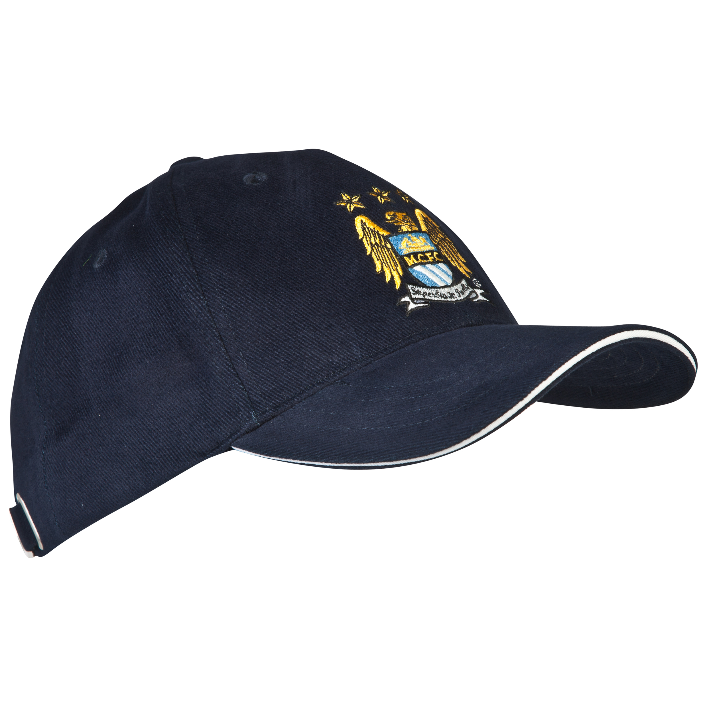 Manchester City UEFA Champions League Baseball Cap Navy